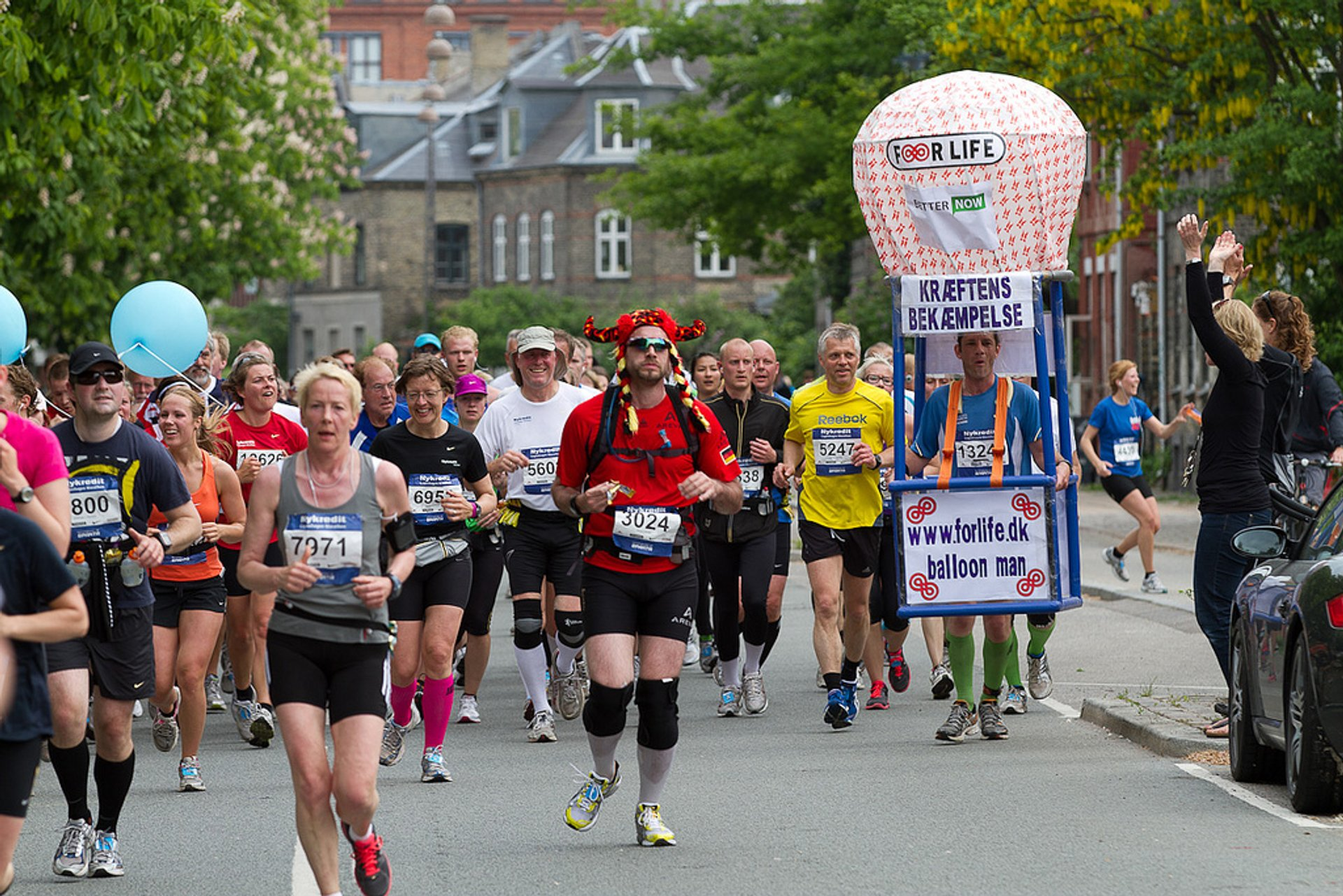 Best time for Copenhagen Marathon in Copenhagen