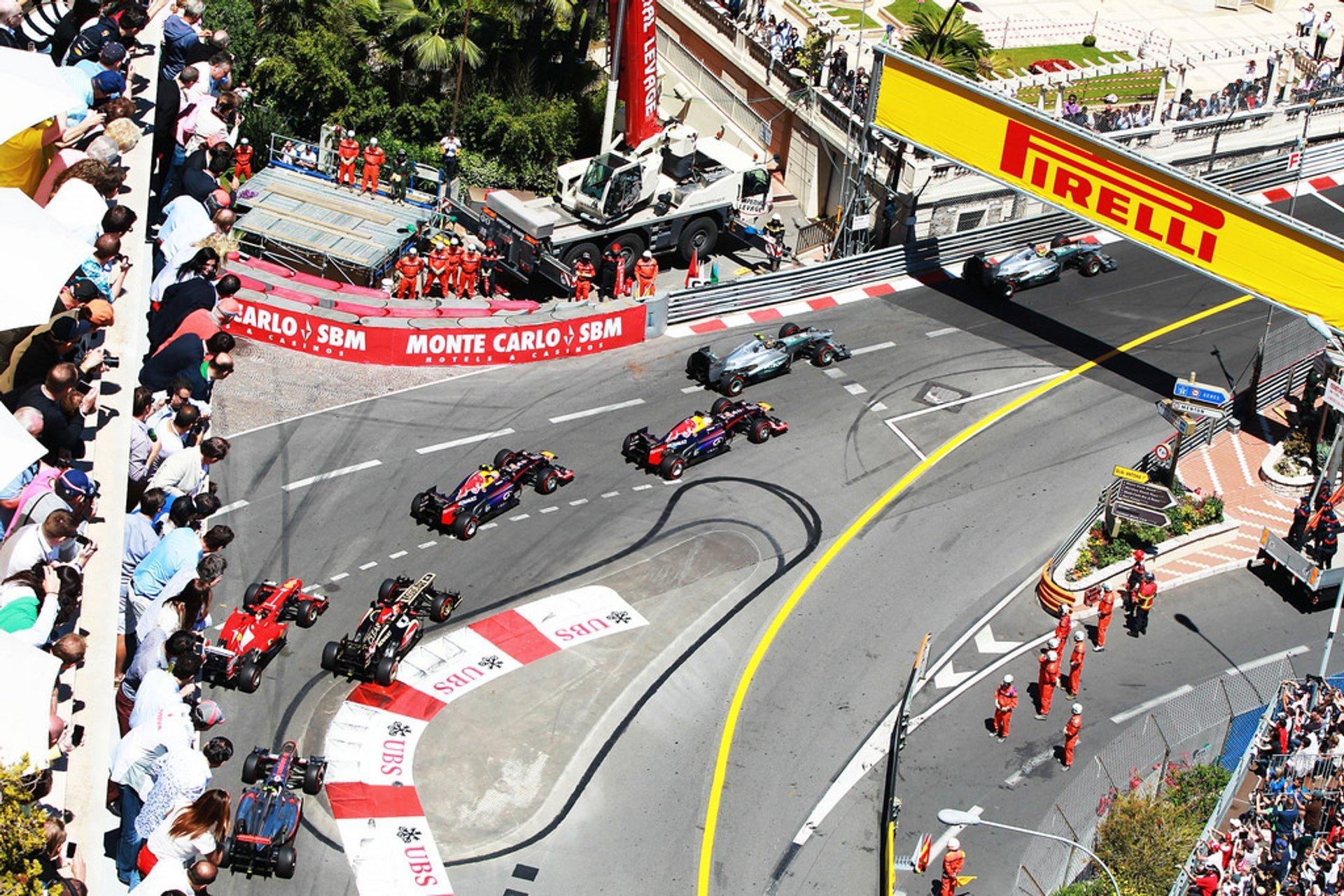 F1 Monaco Grand Prix in Monaco - Best Season 2019