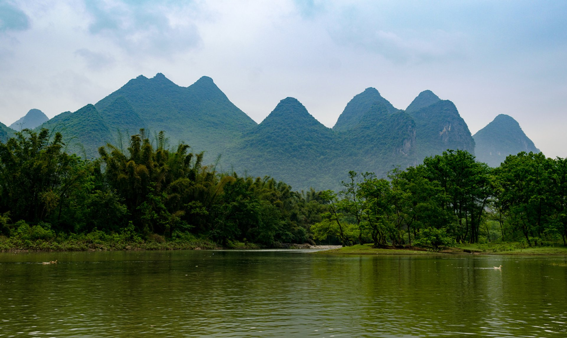 Li River Hiking in Guilin - Best Season 2019