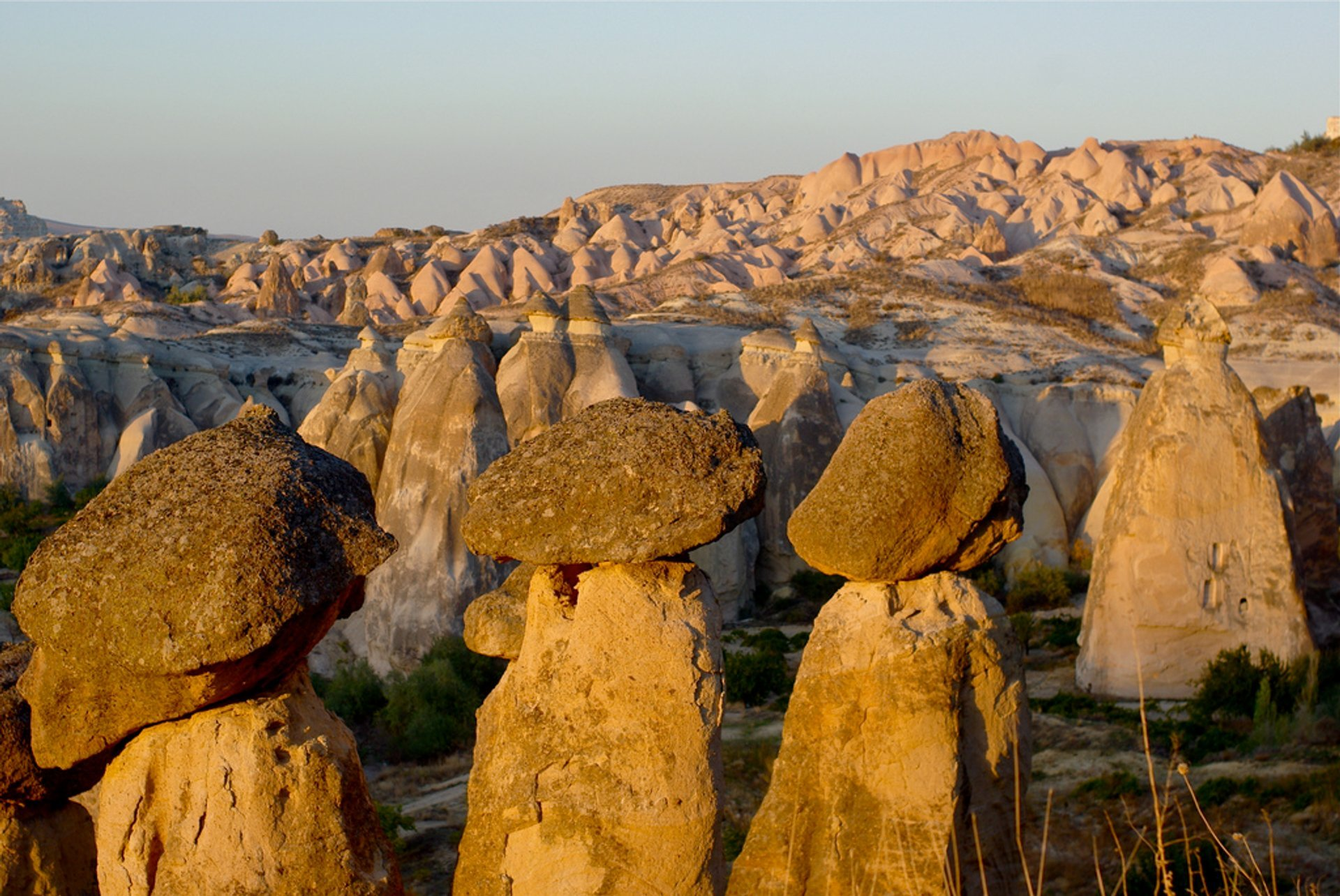 Best time for Fairy Chimneys in Cappadocia