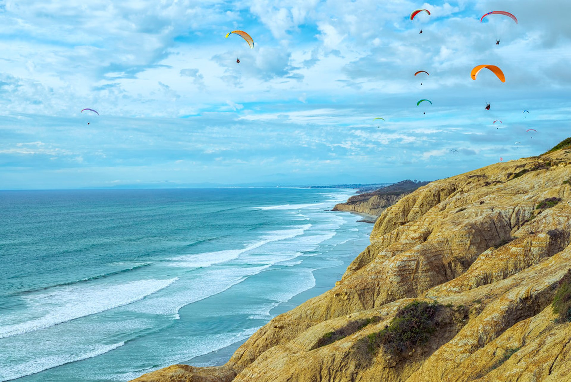 Best time for Paragliding in San Diego 2020