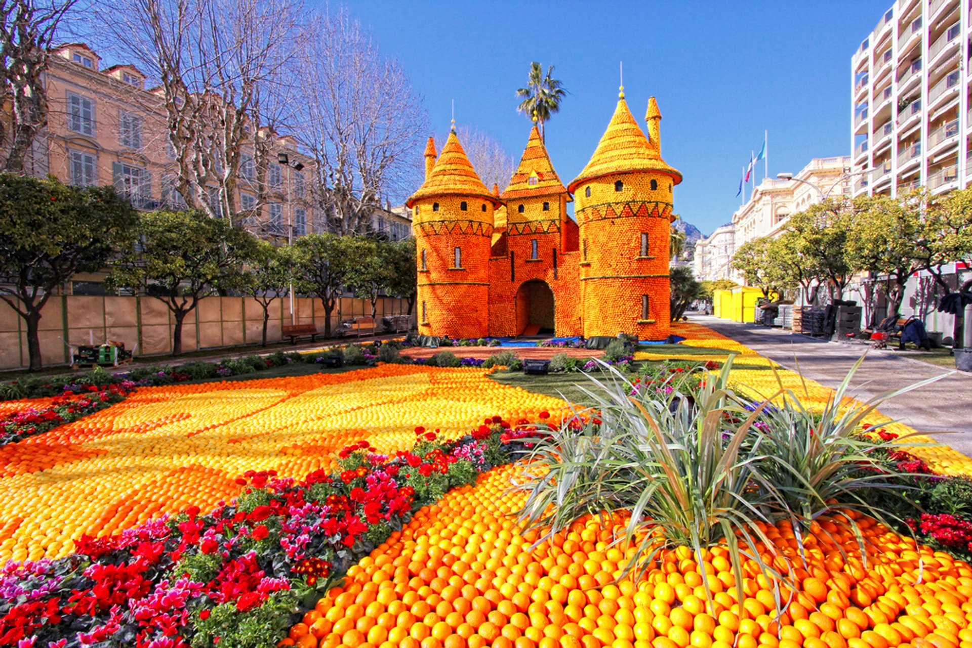 Best time to see Fête du Citron (Menton Lemon Festival) in Provence & French Riviera 2020