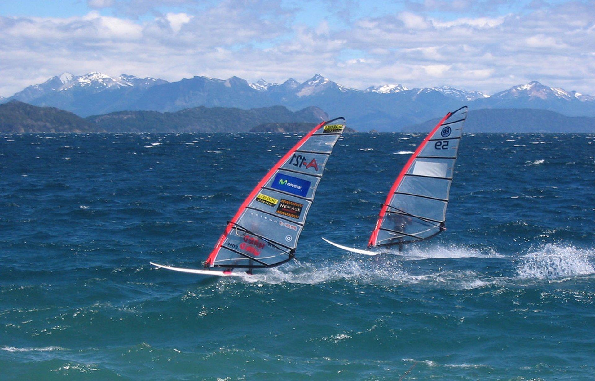 Windsurfing in Argentina - Best Season 2020