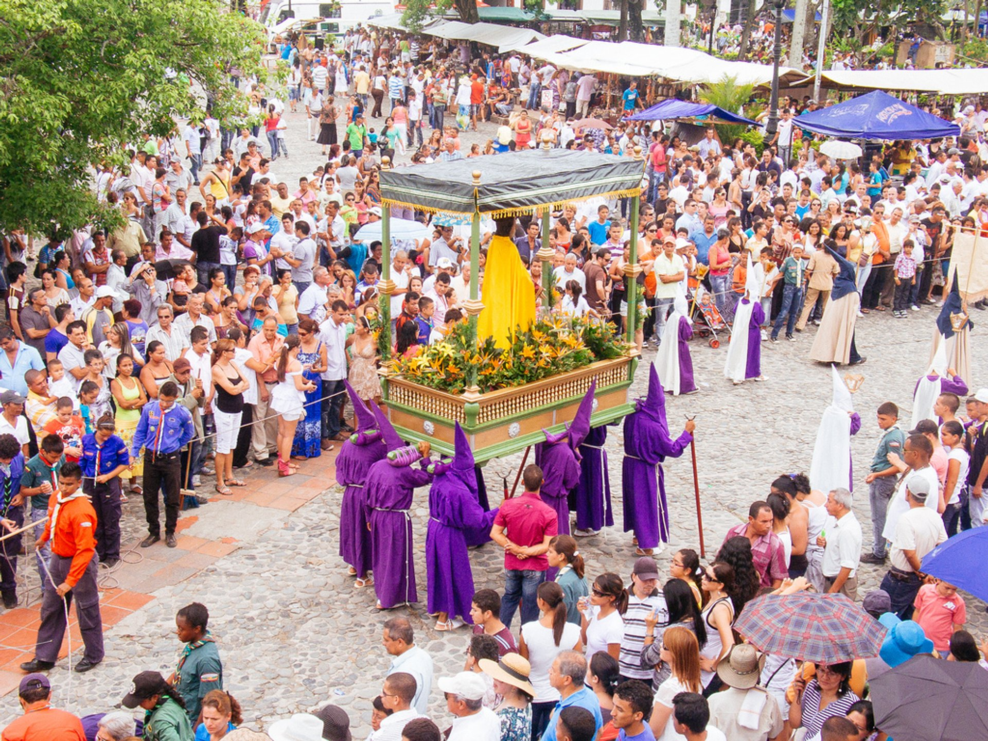 Semana Santa in Santa Fe de Antioquia 2020