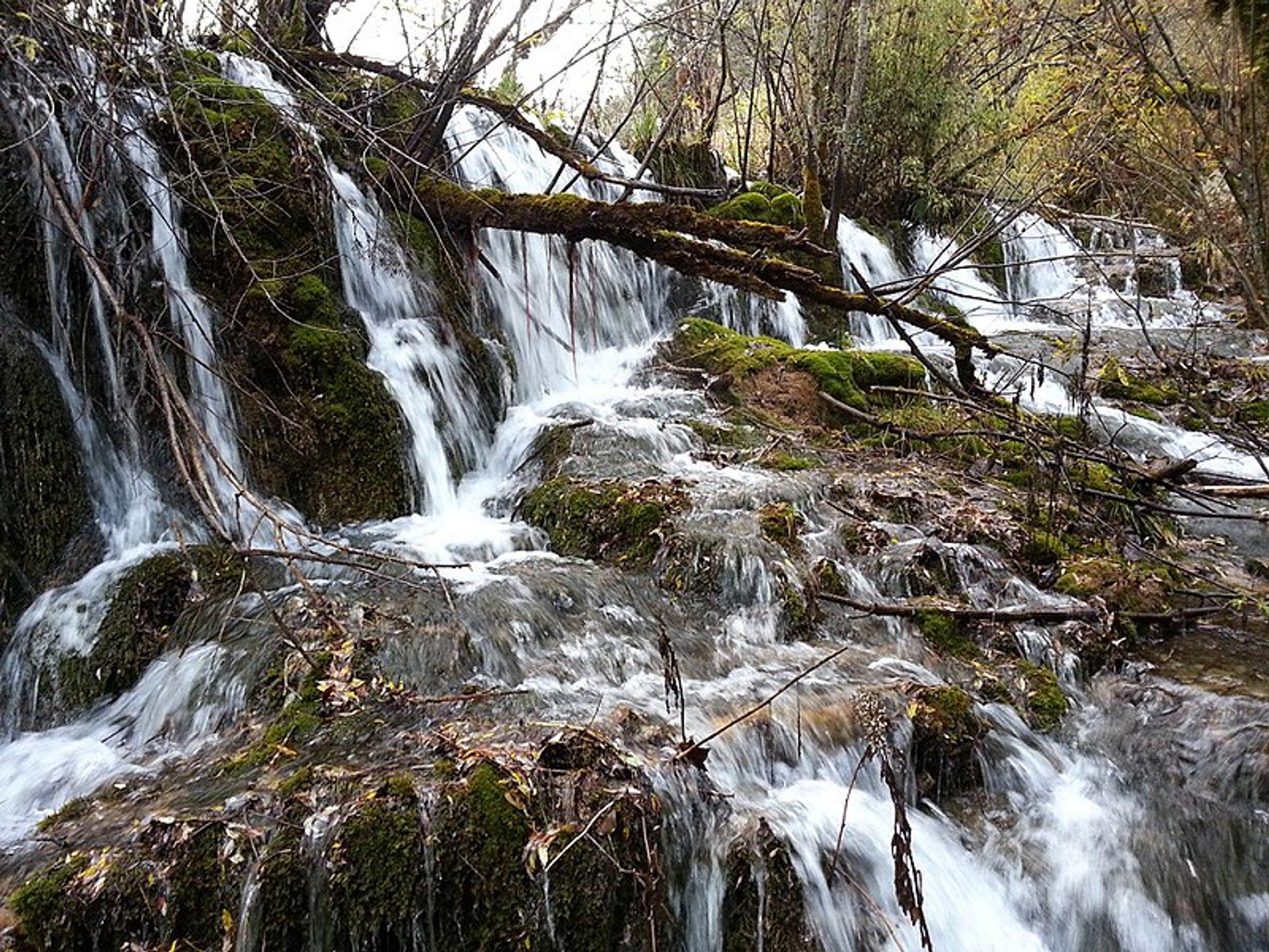 Jianzhu sea waterfalls 2020