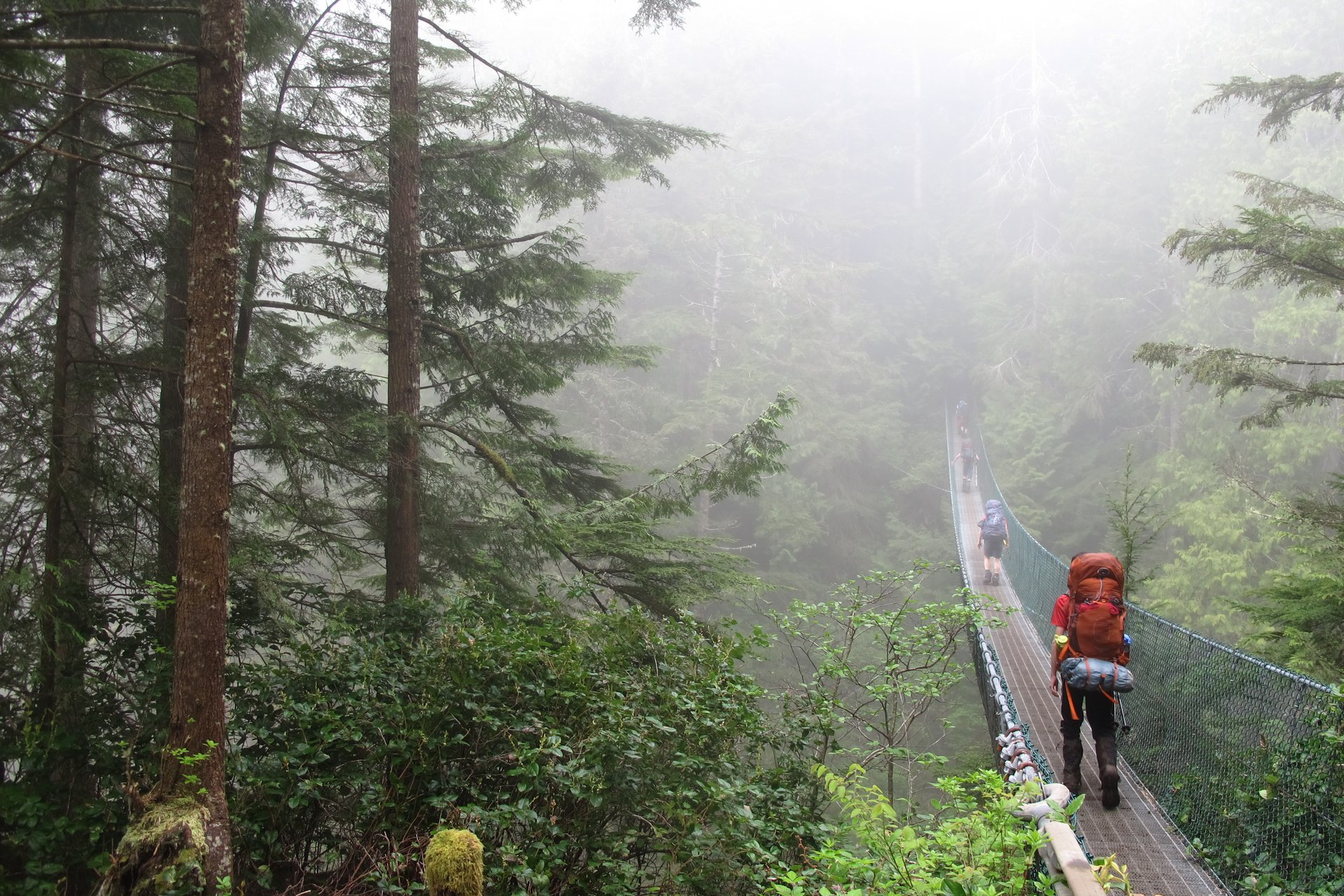 Best time for Juan de Fuca Trail in British Columbia