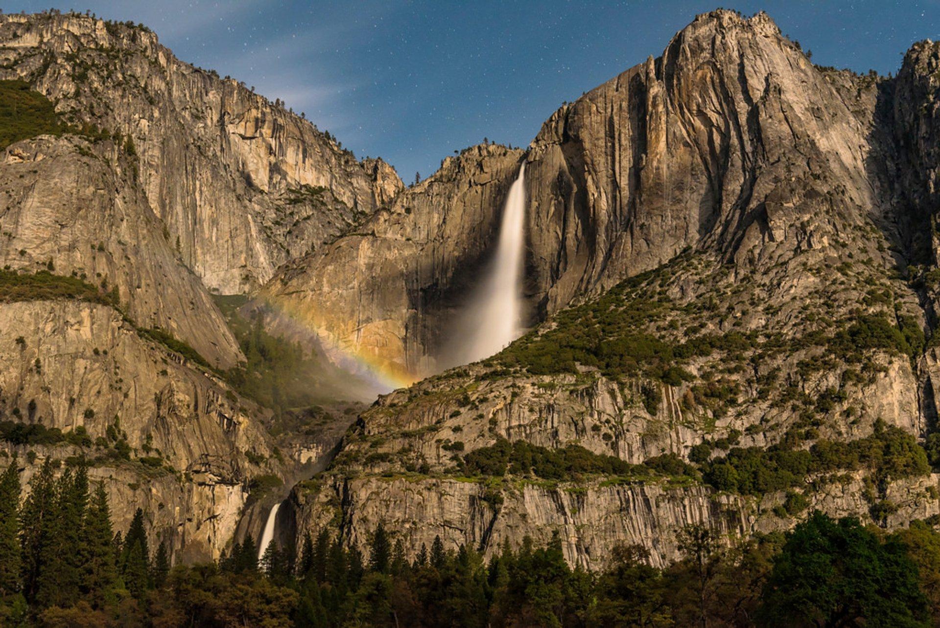 Moonbows in Yosemite 2020 - Best Time