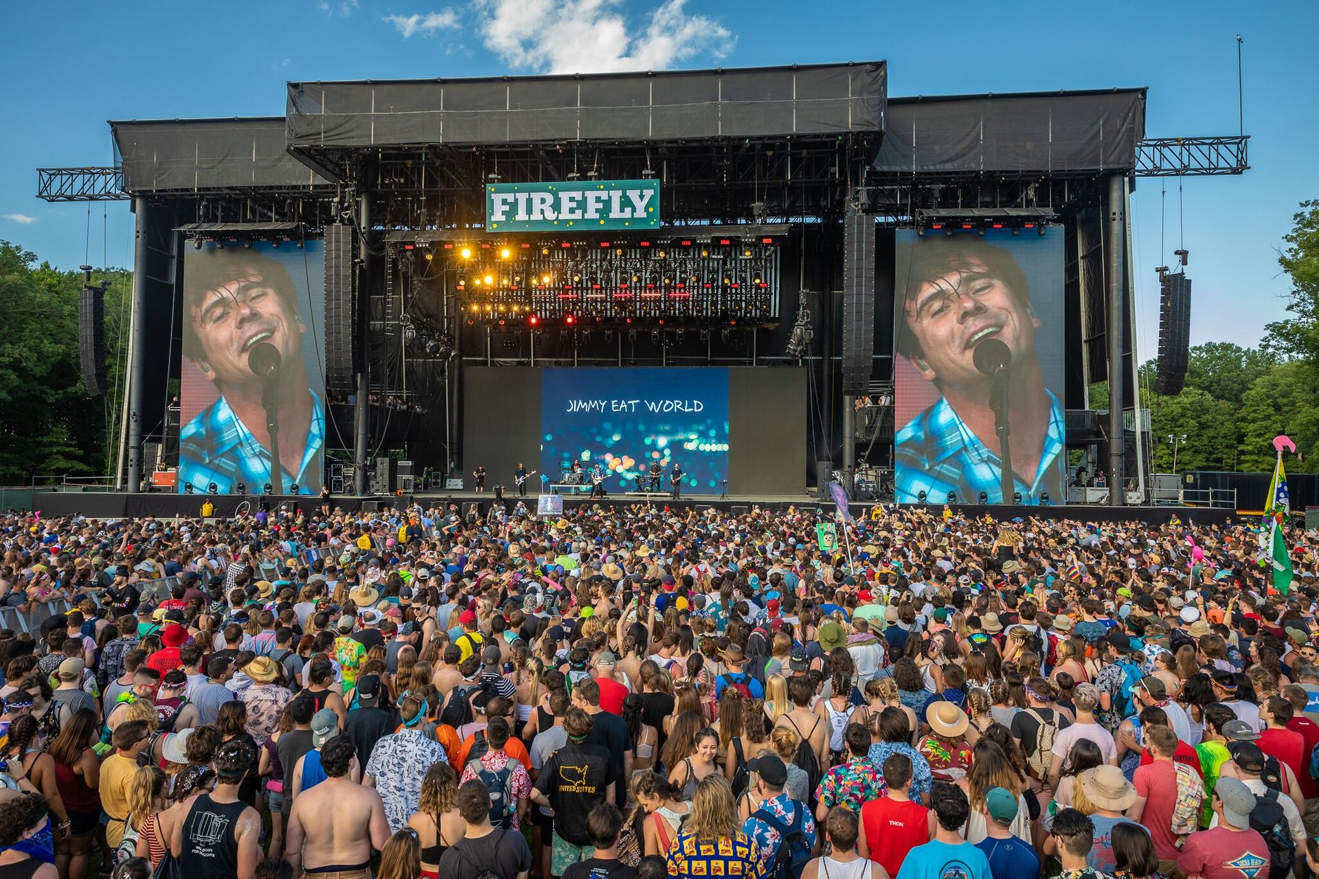 Best time to see Firefly Music Festival in Delaware 2020