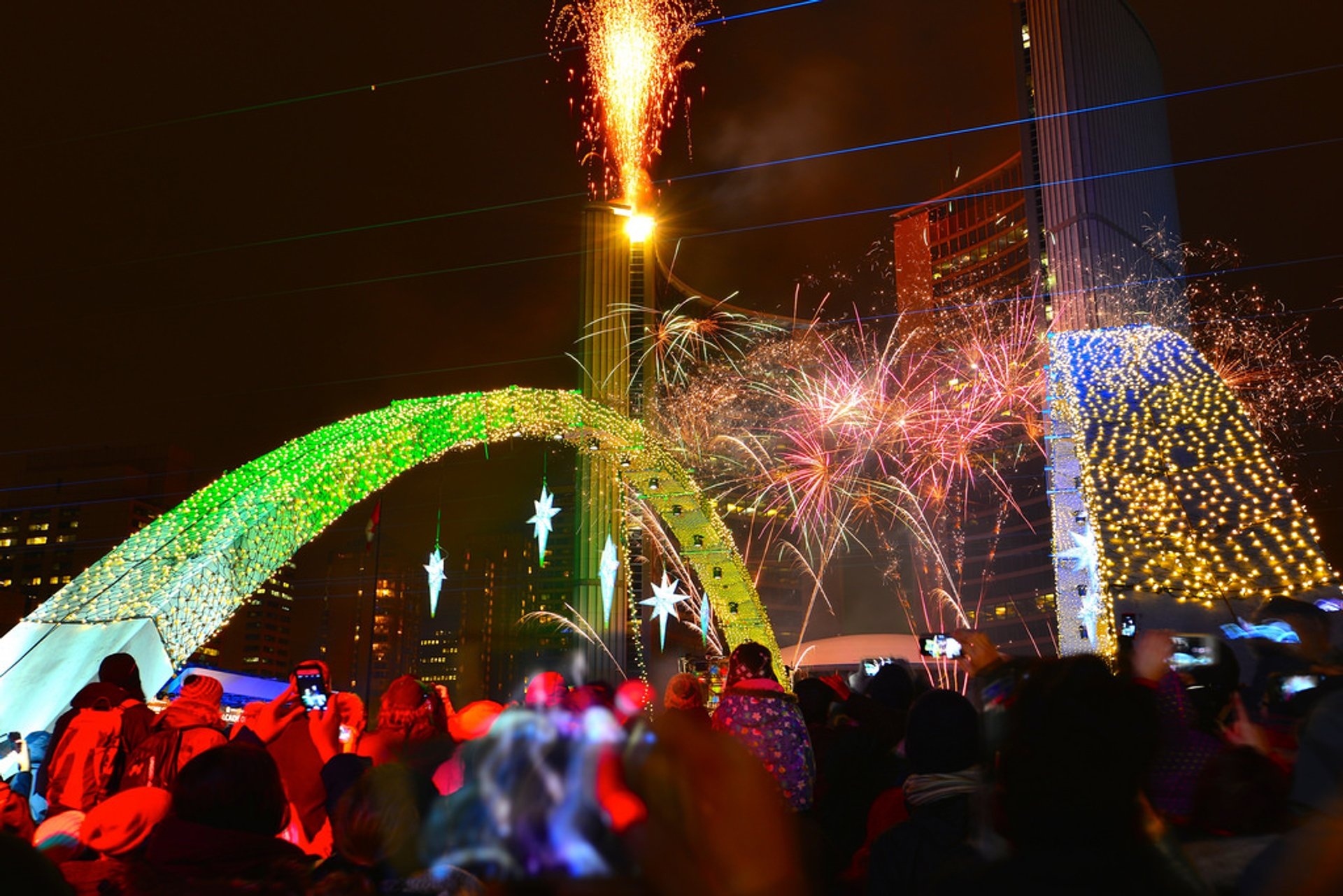 Cavalcade of Lights in Toronto 2019 - Best Time