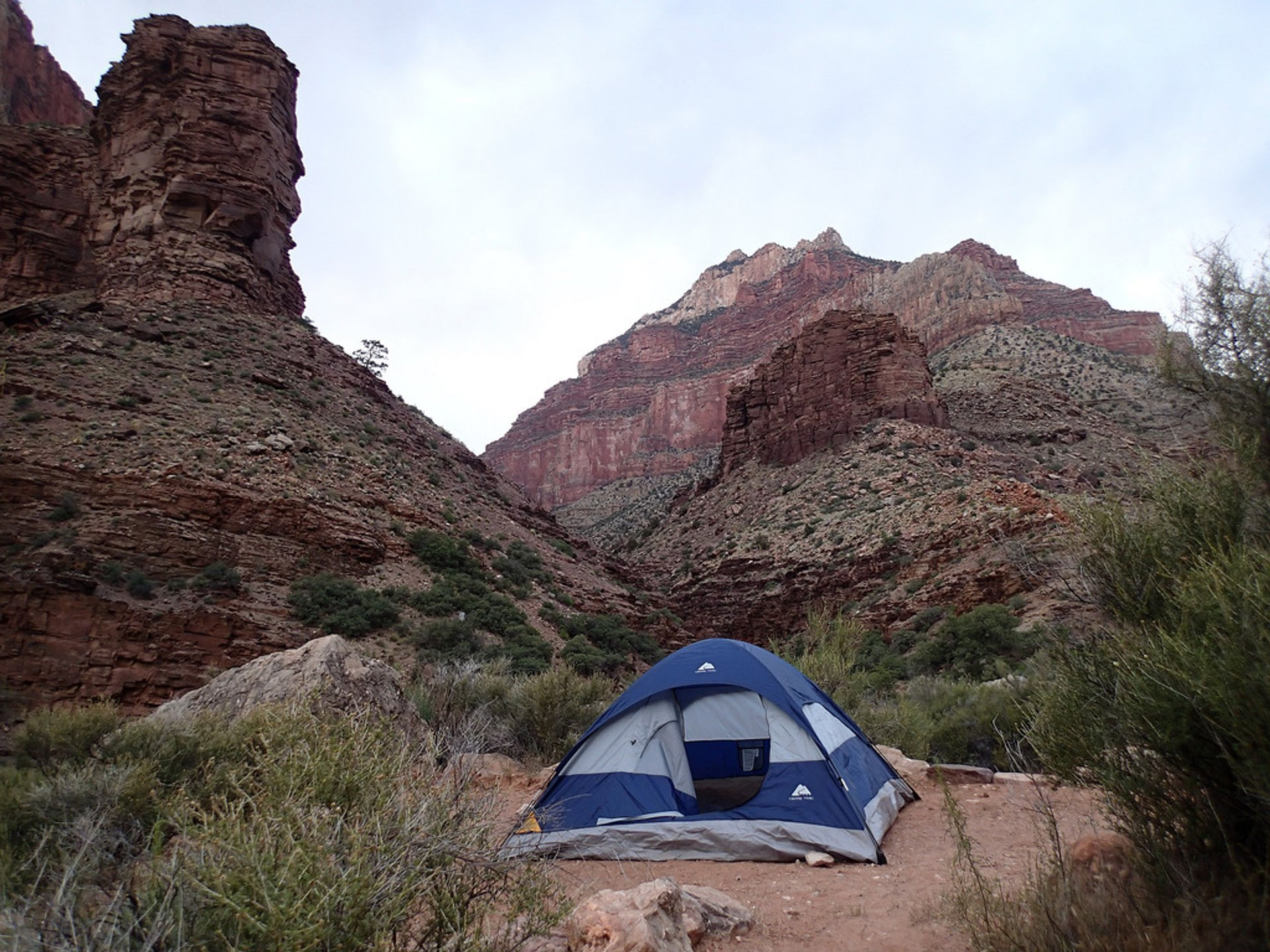 Camping in the Grand Canyon 2020