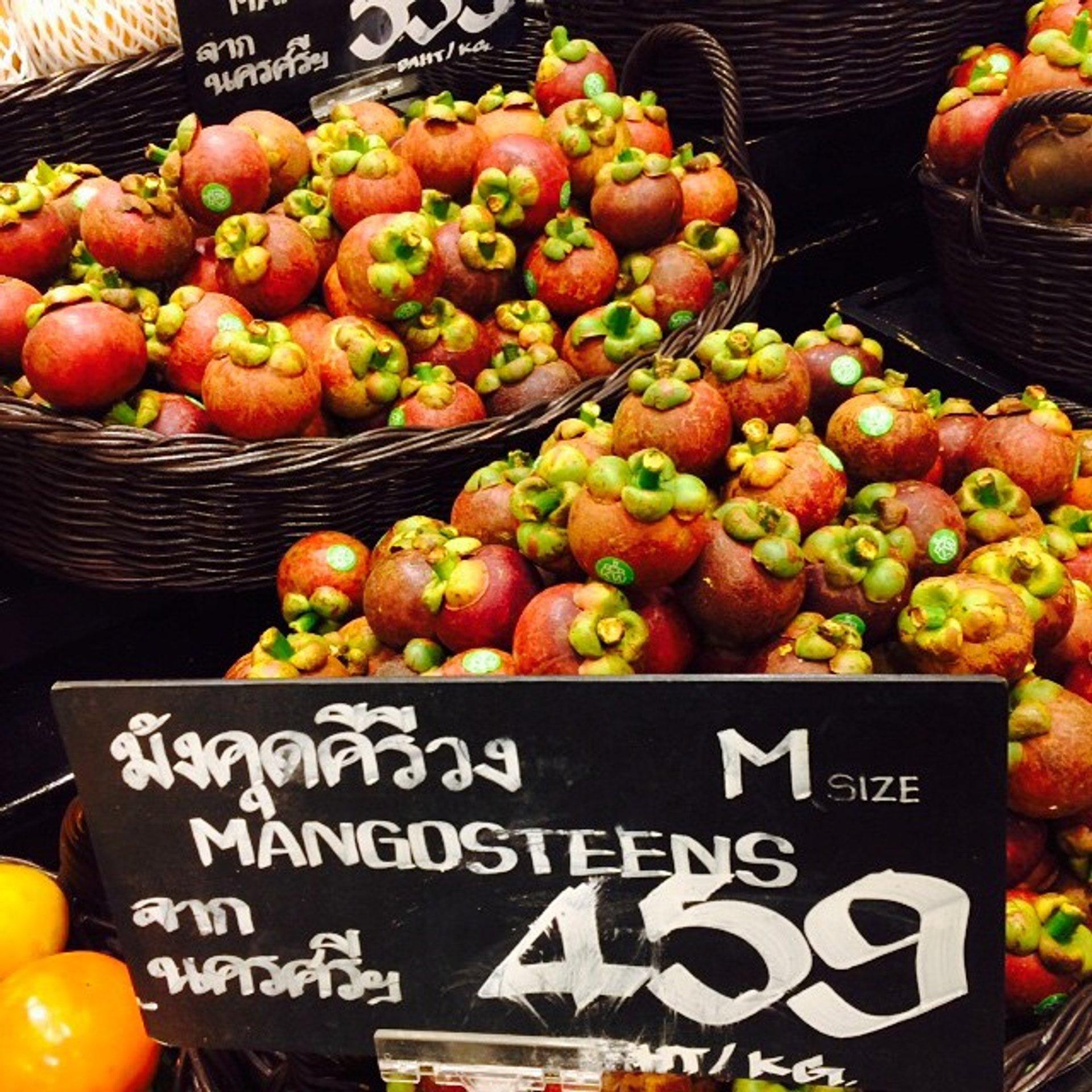 Mangosteen Season in Thailand - Best Season 2020