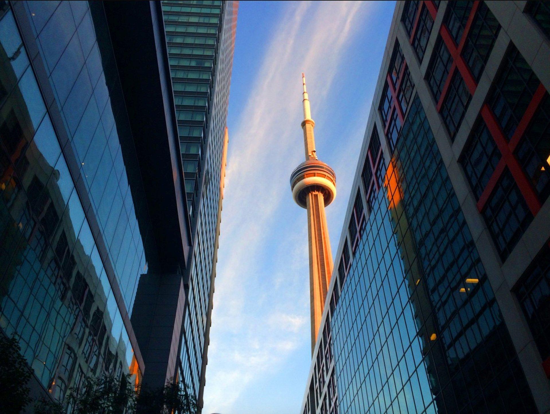 CN Tower in Toronto - Best Season 2020