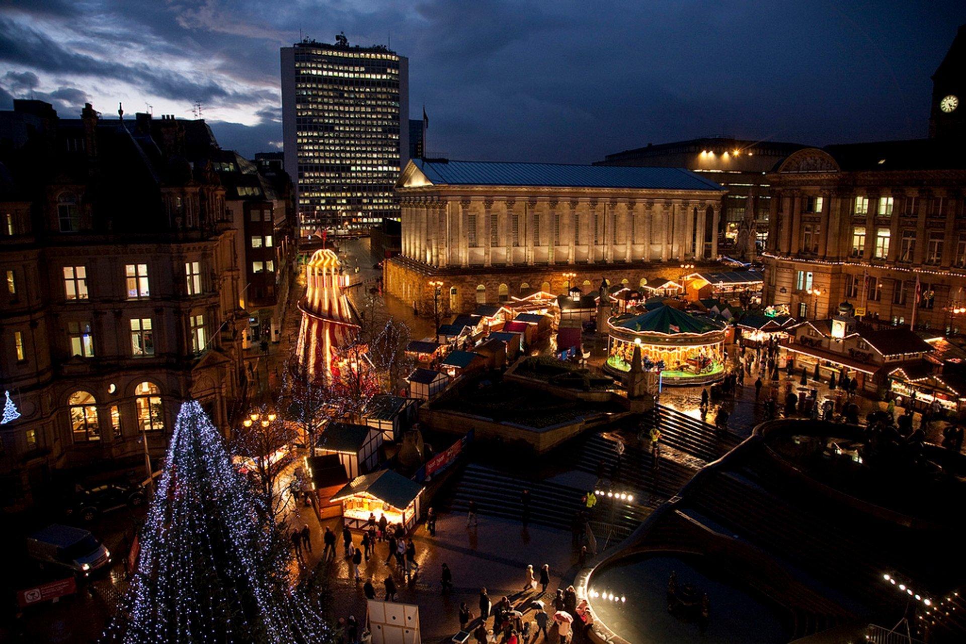 Birmingham Frankfurt Christmas Market 2020