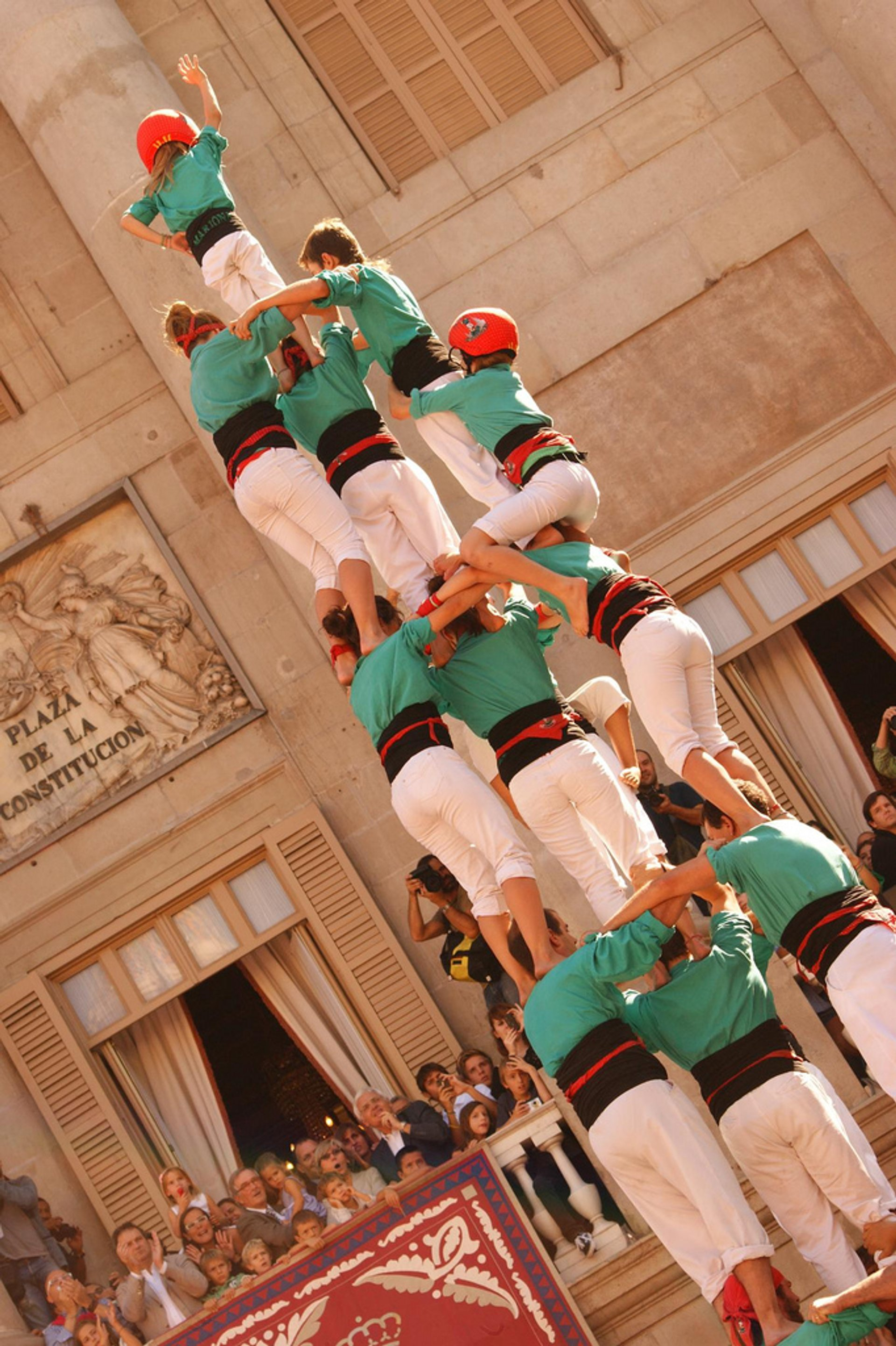 Castells or Human Towers in Barcelona - Best Season 2020