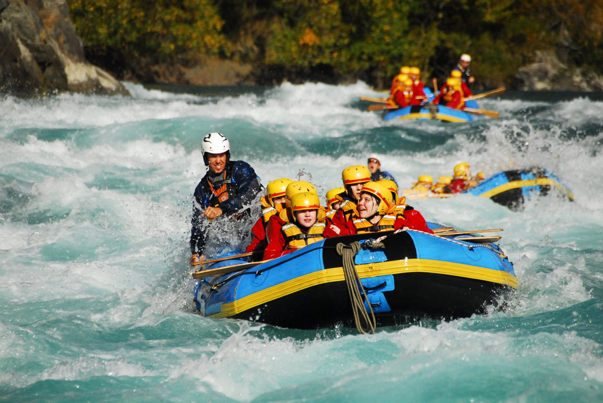 White Water Rafting in New Zealand 2020 - Best Time