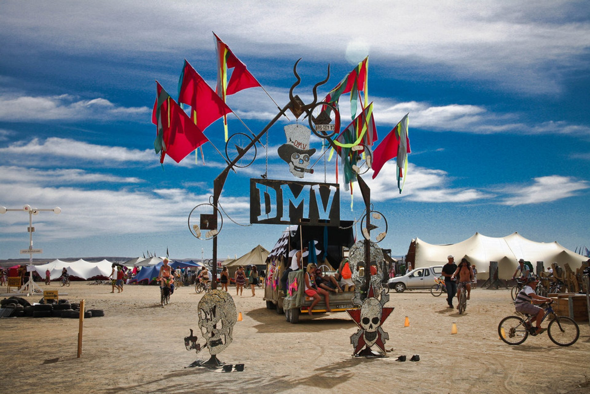 Best time to see AfrikaBurn in Cape Town