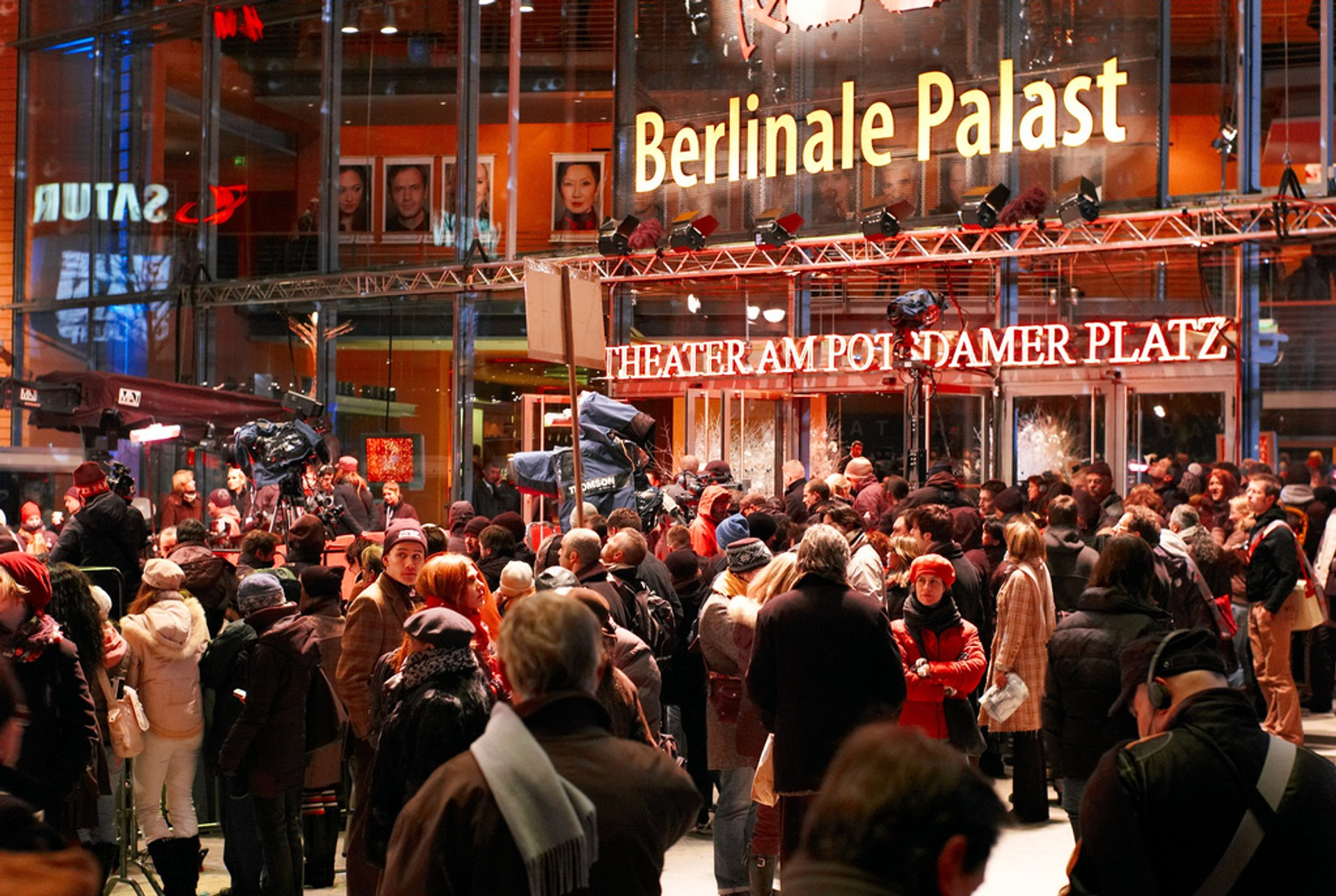 The Berlinale crowd 2020