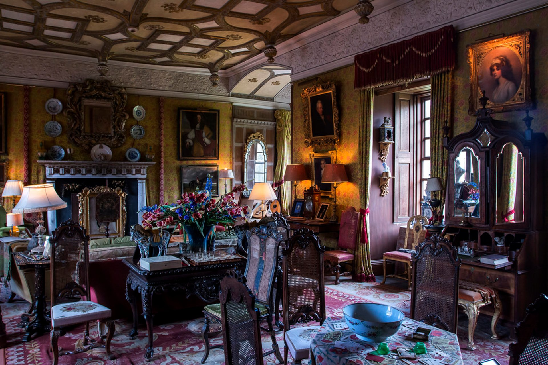 Chillingham Castle Interior 2020