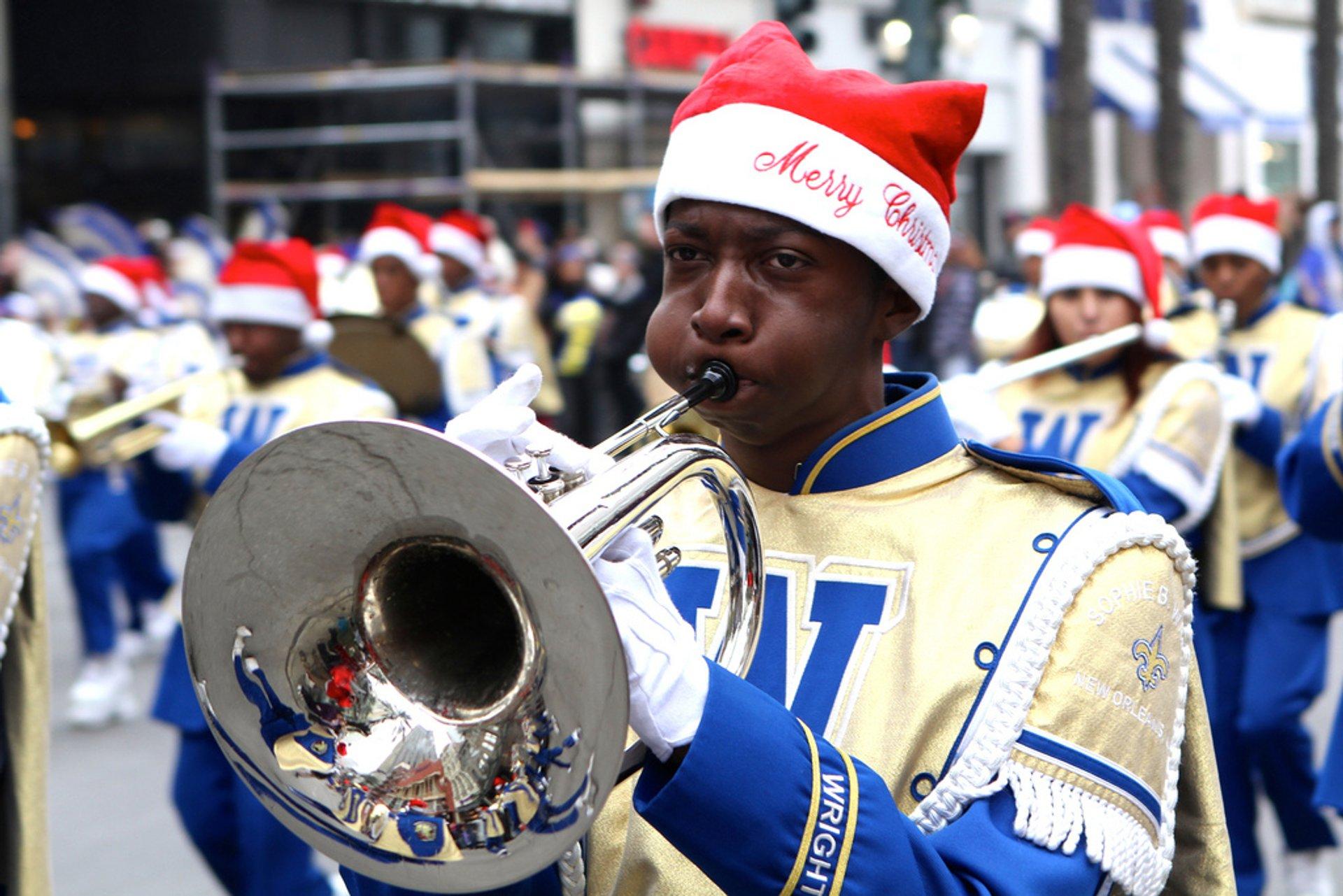 Krewe of Jingle Parade in New Orleans - Best Season 2019