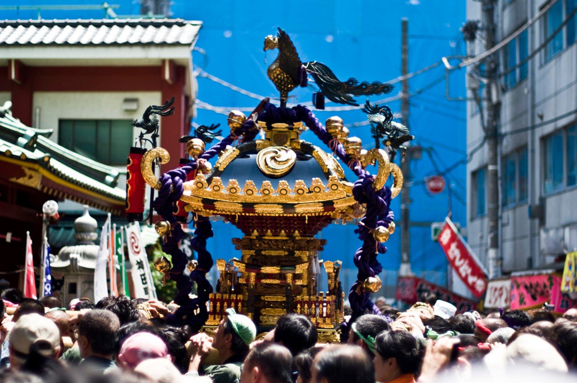 Best time for Kanda Matsuri in Tokyo 2020