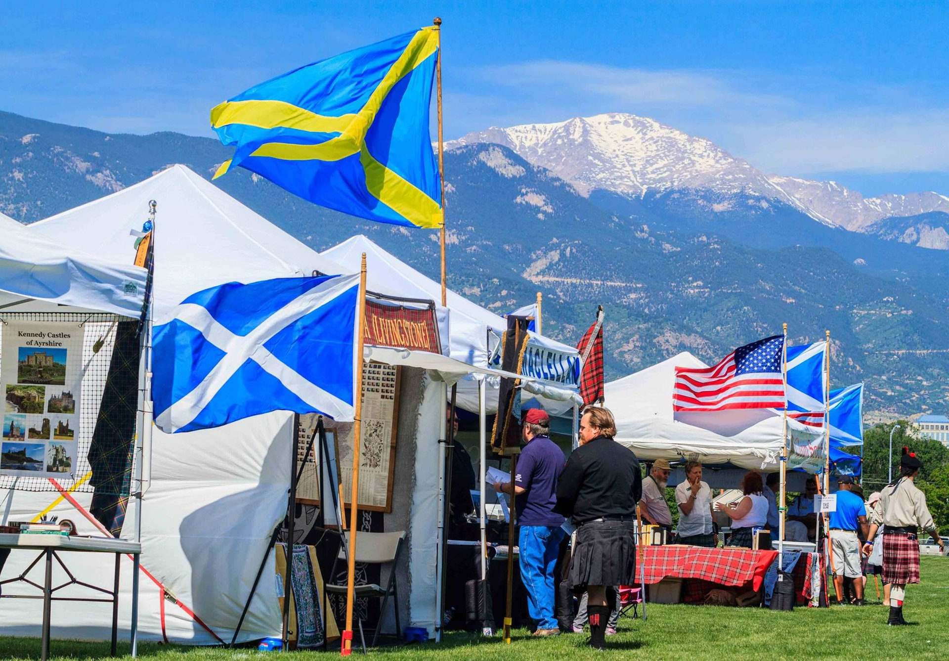 Best time for Pikes Peak Celtic Festival in Colorado 2020