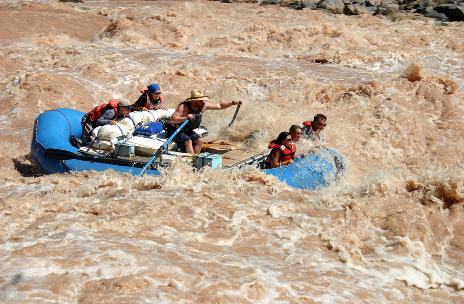 River Rafting in Grand Canyon 2019 - Best Time
