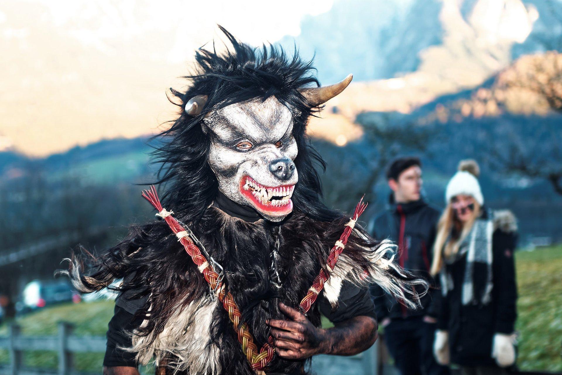 Best time for Krampus Nacht and Krampus Run in Bavaria 2020