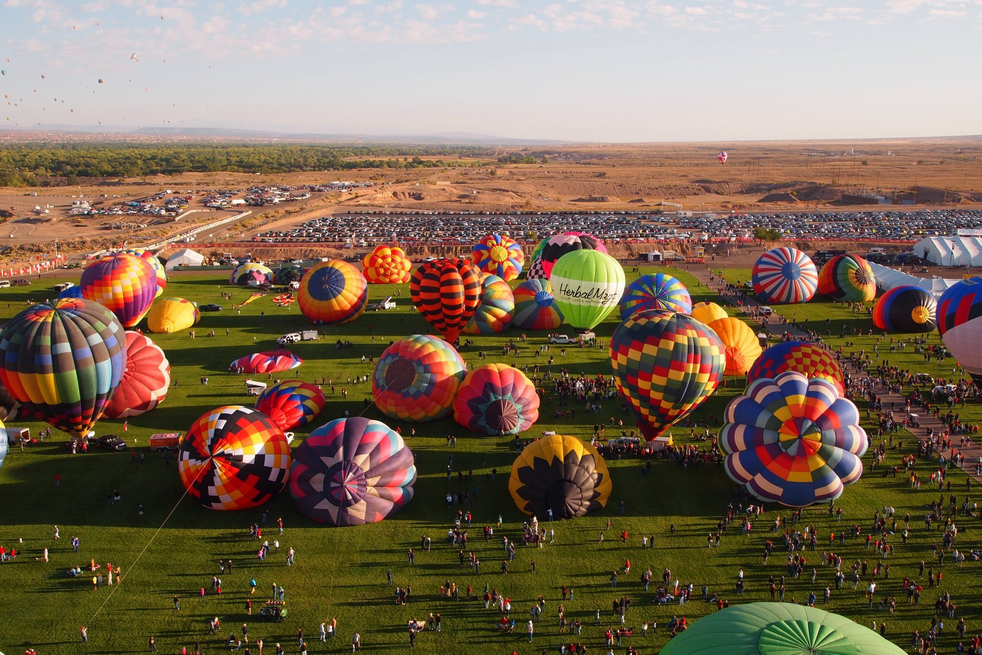 Albuquerque International Balloon Fiesta in New Mexico - Best Season 2020