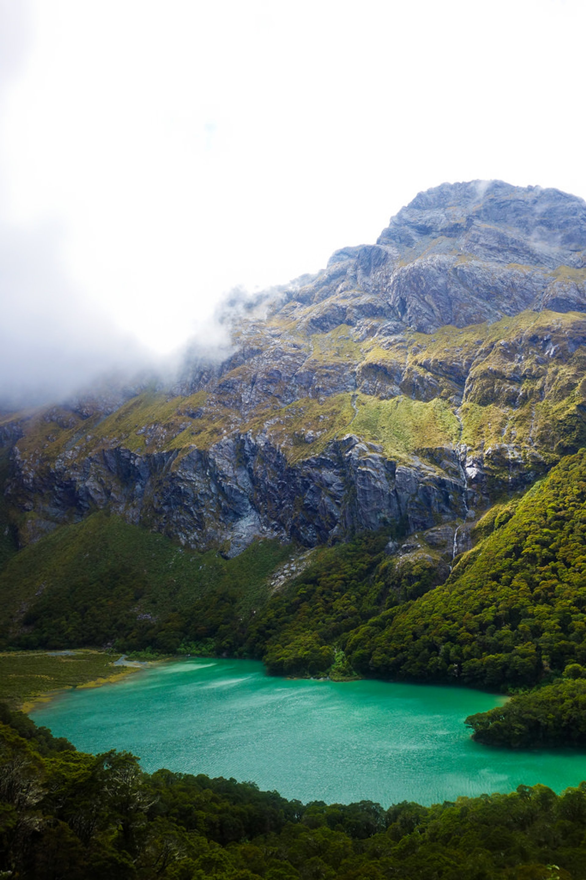 Best time for Blue Lake in New Zealand