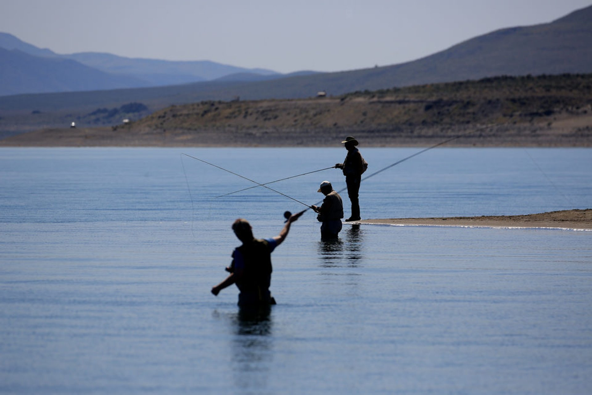 Best time for Fishing at Pyramid Lake in Nevada 2020