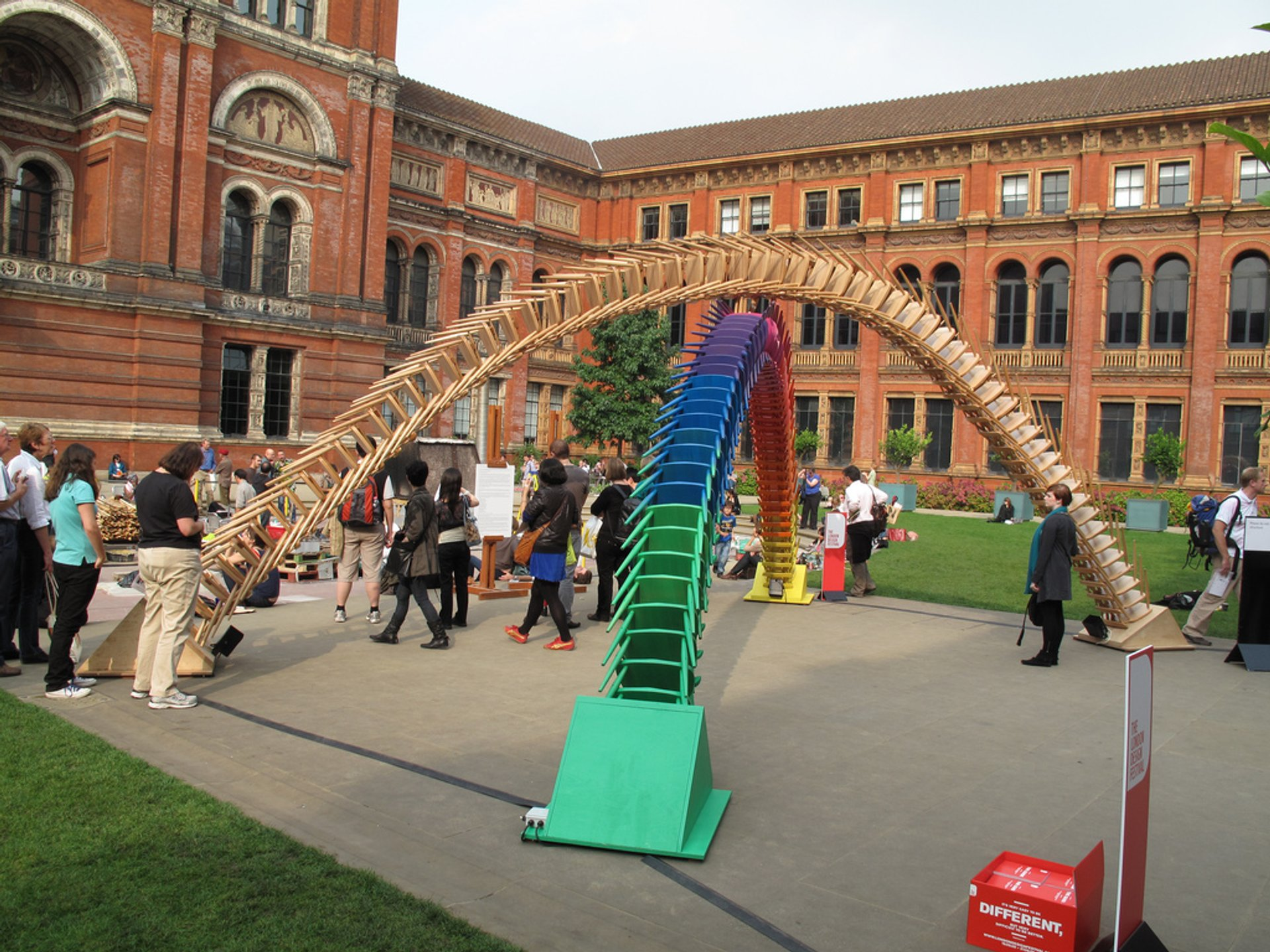 Best time to see The London Design Festival in London