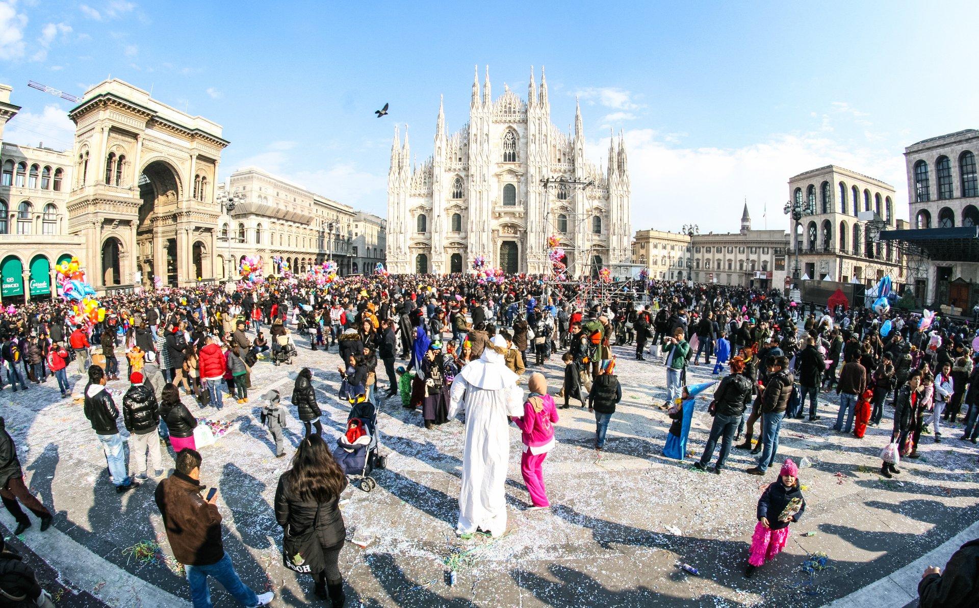 Ambrosian Carnival in Milan 2020 - Best Time