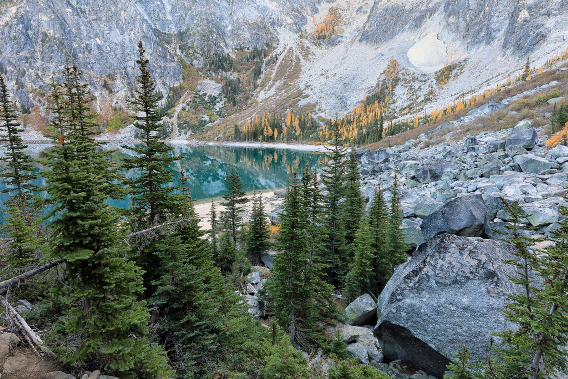 Colchuck Lake in Seattle - Best Season 2020