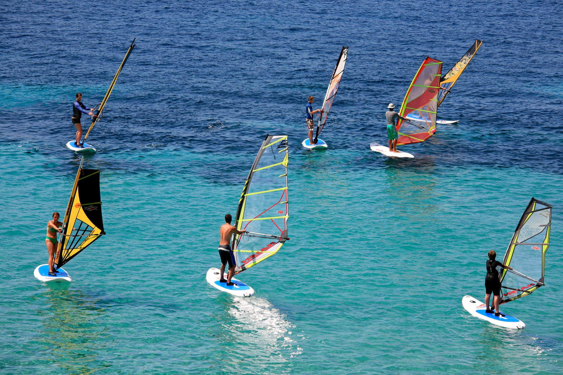 Kitesurfing and Windsurfing in Croatia 2020 - Best Time