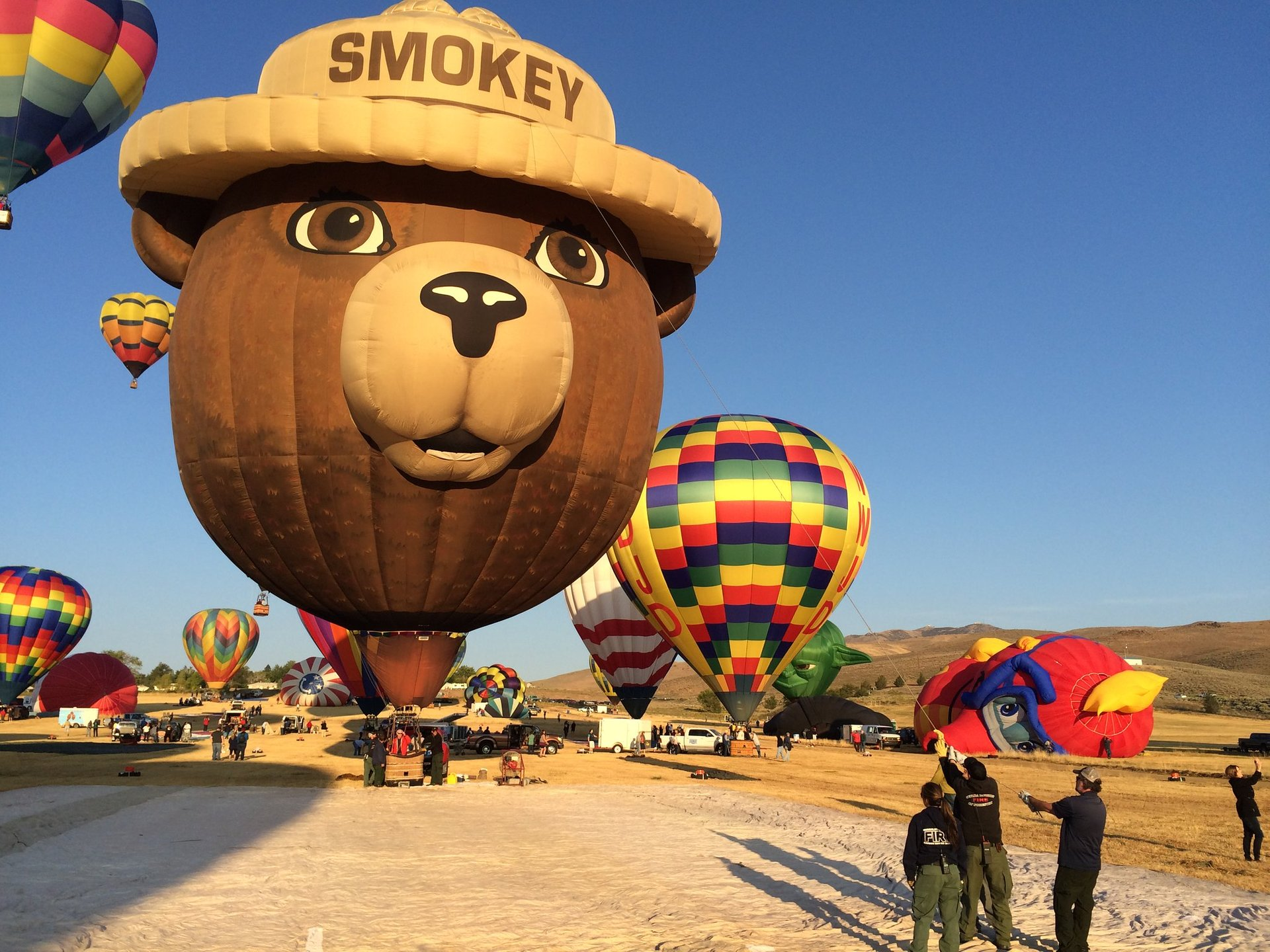 The Great Reno Balloon Race in Nevada 2020 - Best Time