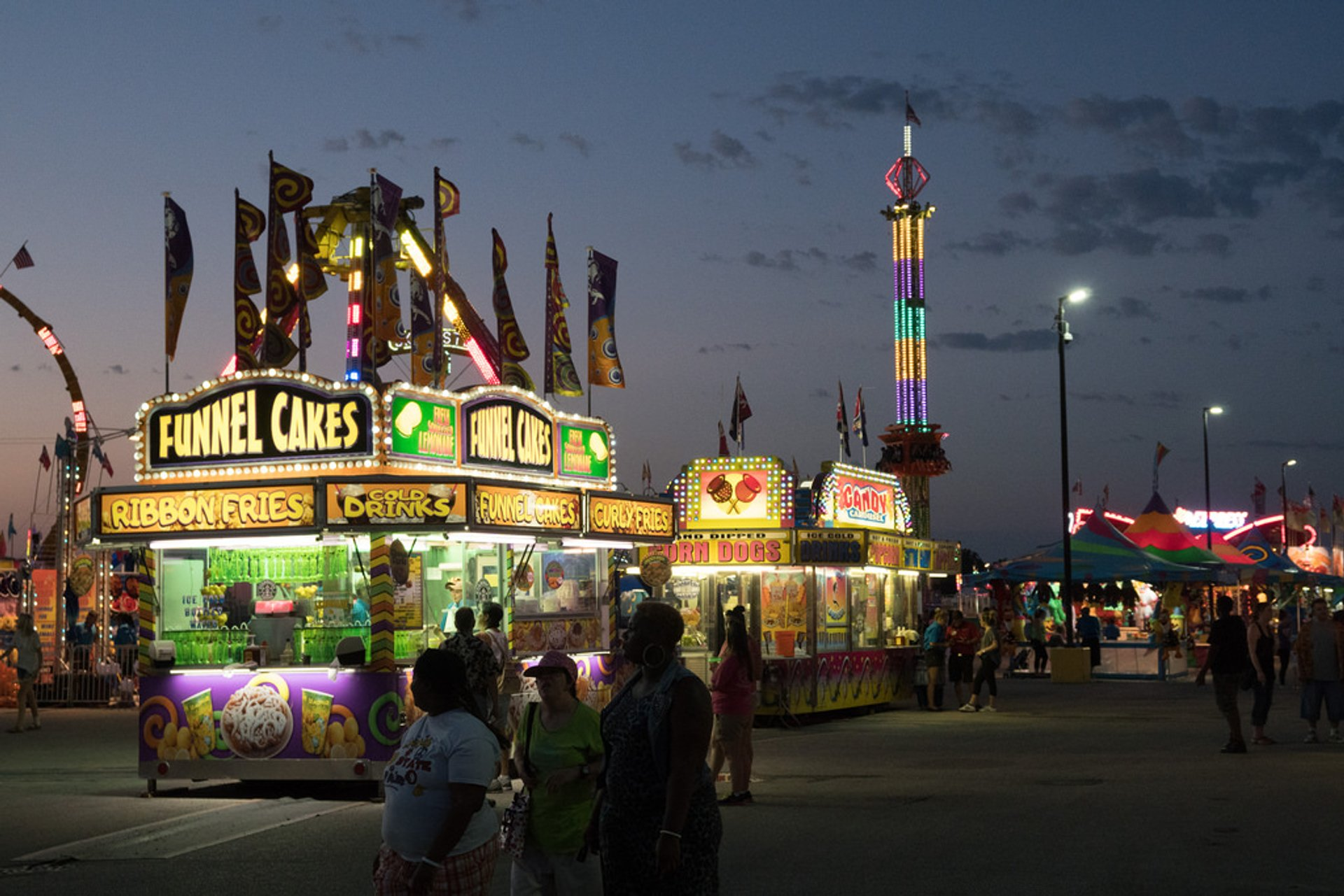 Best time for Illinois State Fair 2019