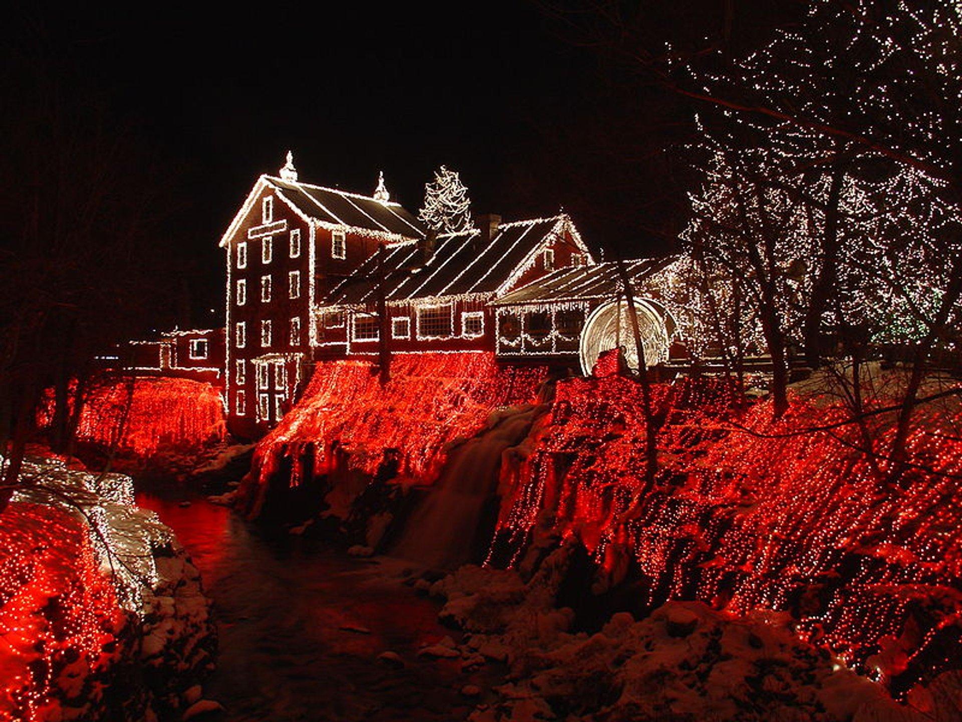 Clifton Mill Christmas Lights 2020