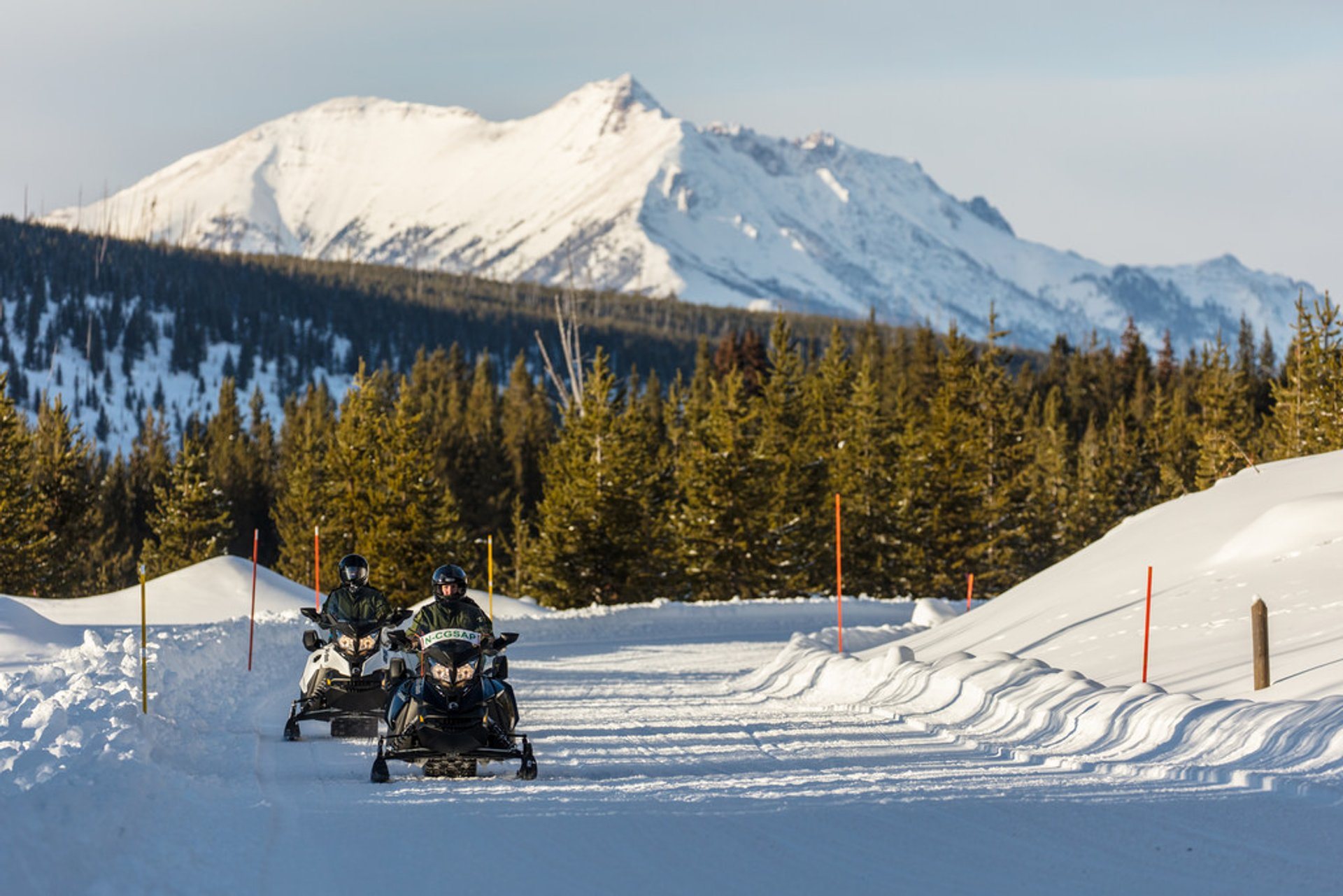 Snowmobiling in Yellowstone National Park - Best Time