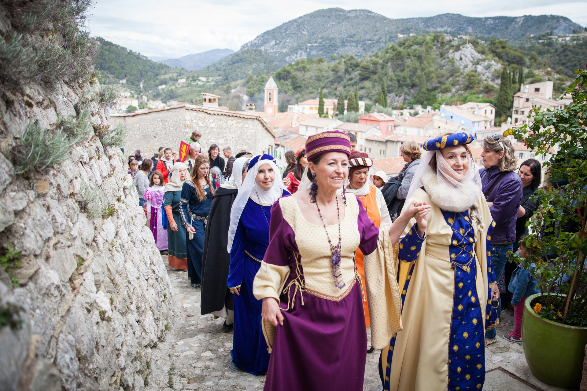Tourrette-Levens Medieval Festival in Provence & French Riviera 2020 - Best Time