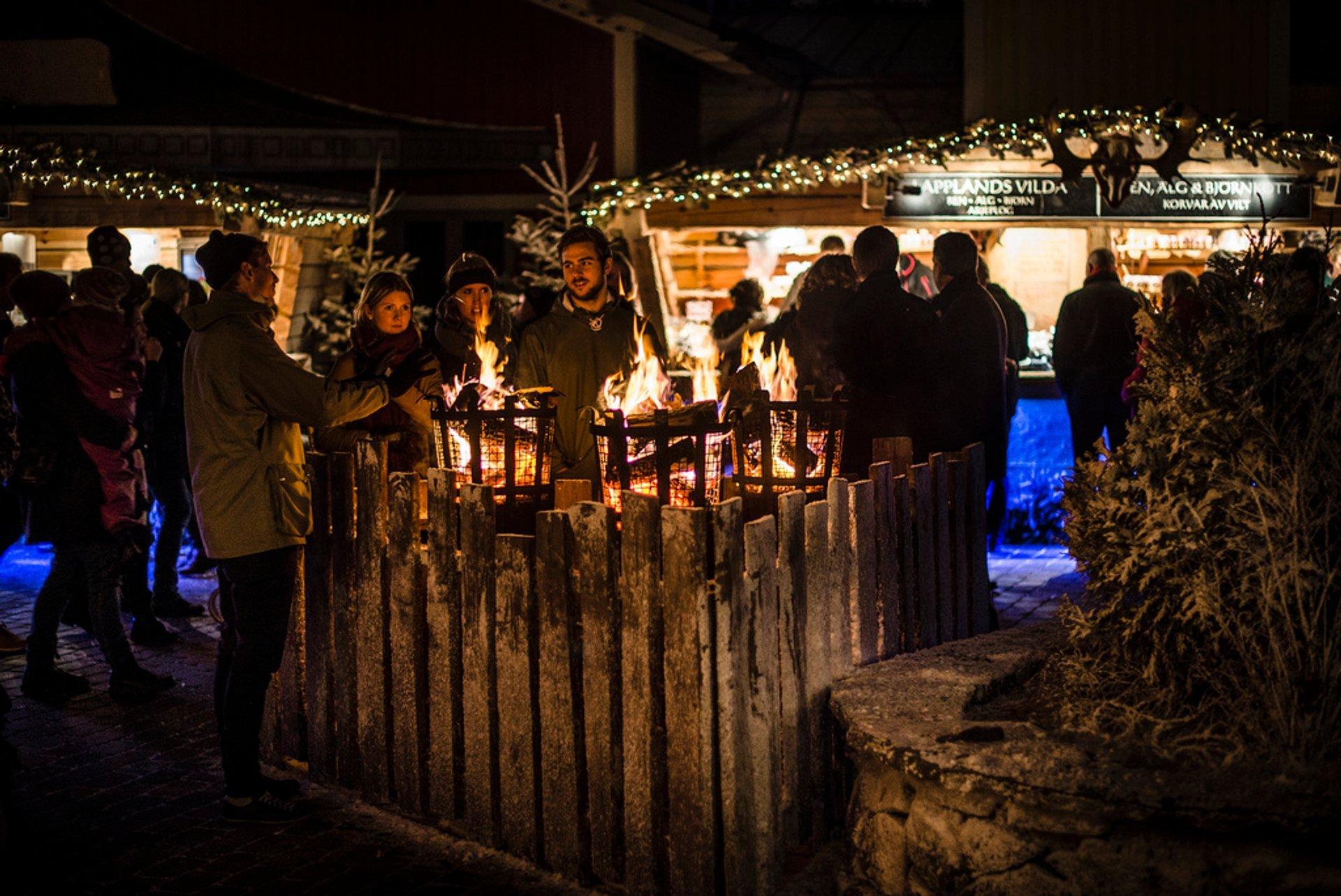 Liseburg Christmas Market, Gothenburg 2020