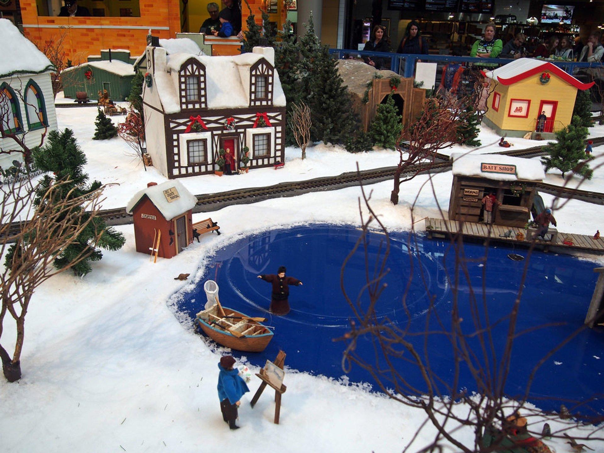 Seattle Winter Train Village 2020