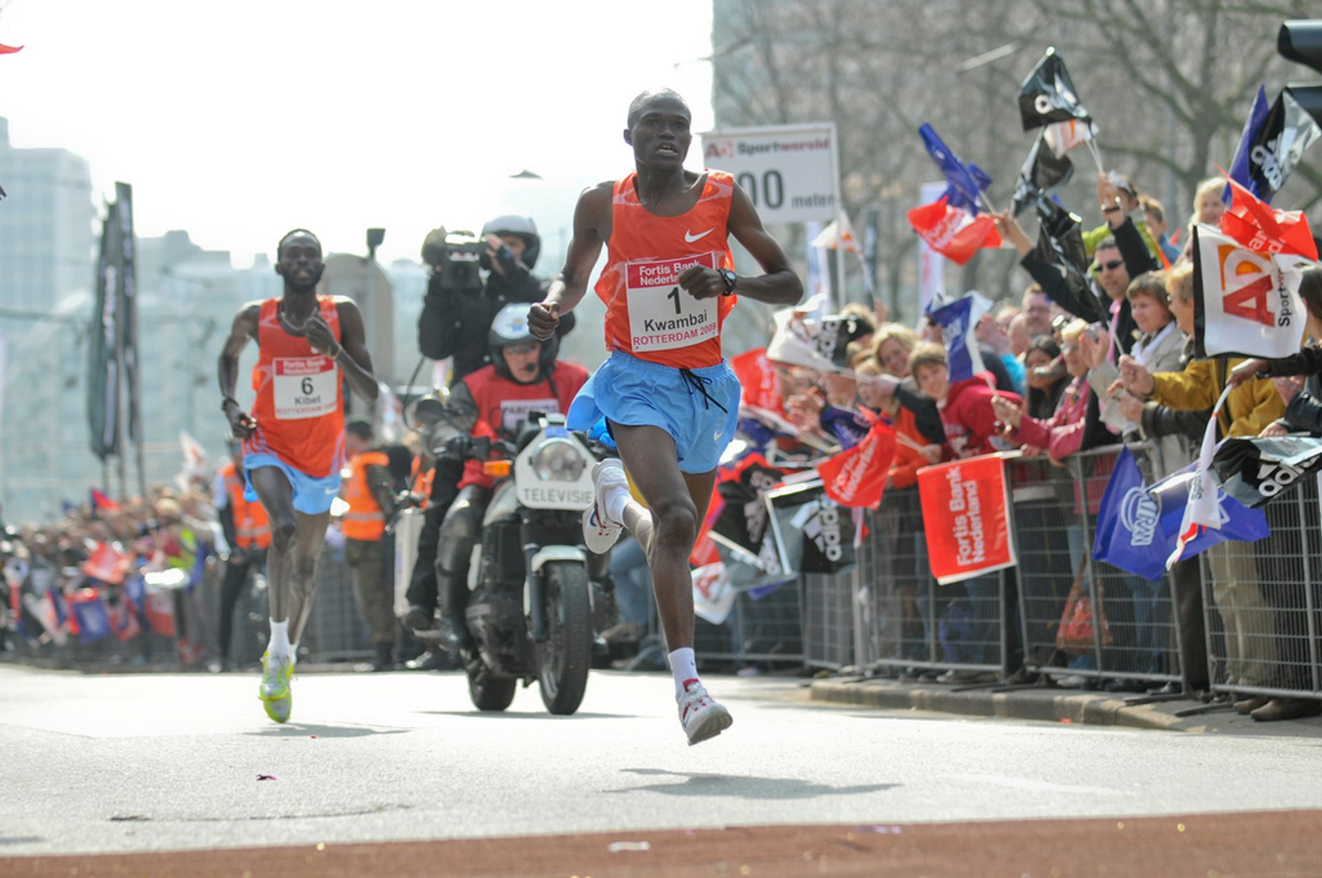 Rotterdam Marathon in The Netherlands 2019 - Best Time