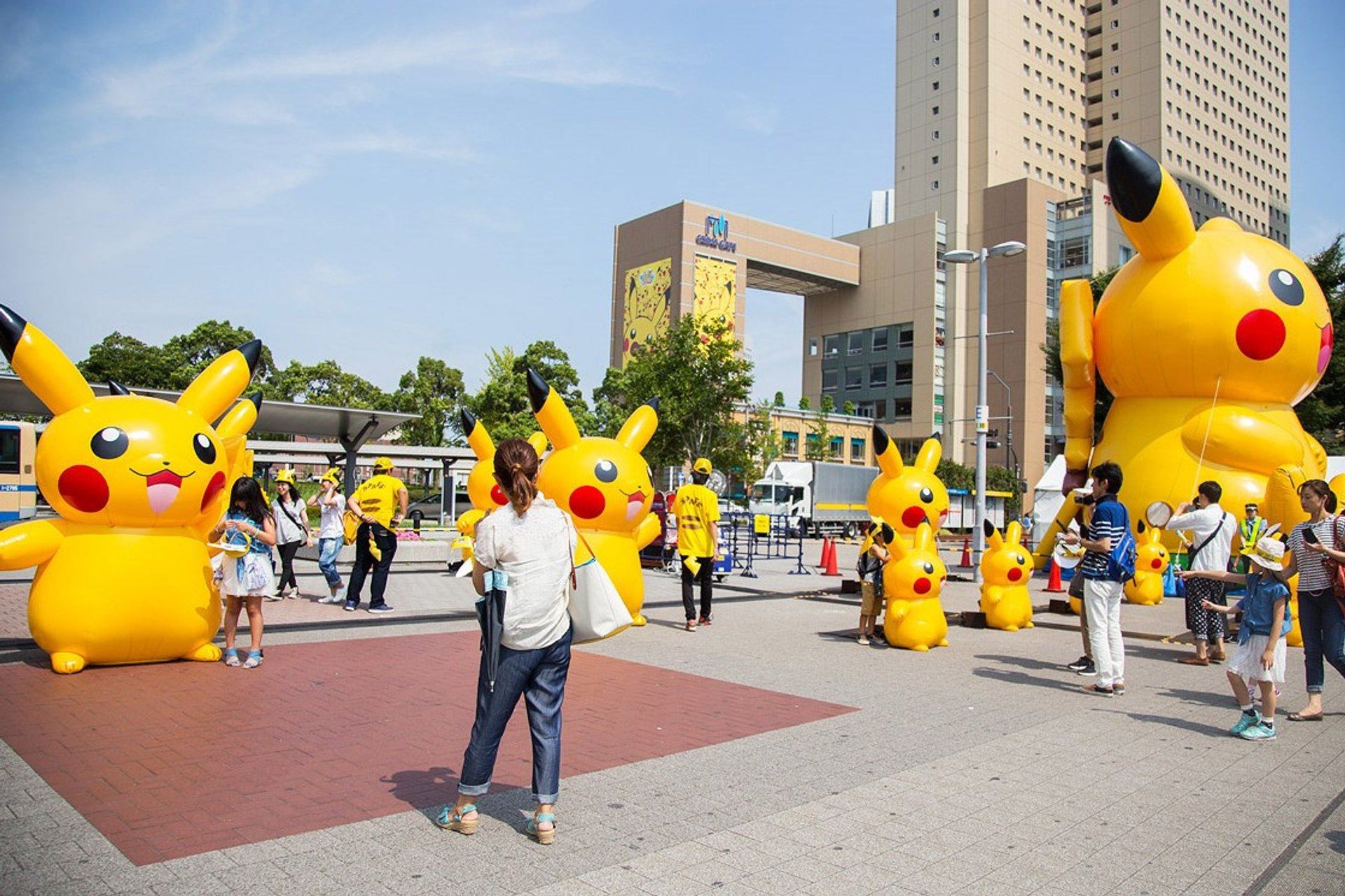 Best time for Pikachu Tairyou Hassei-Chu in Japan 2020