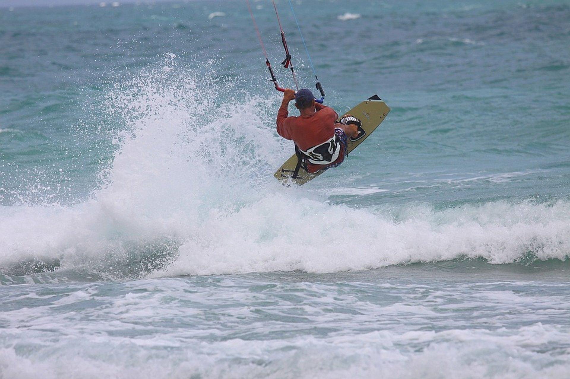Kiteboarding in Florida 2020