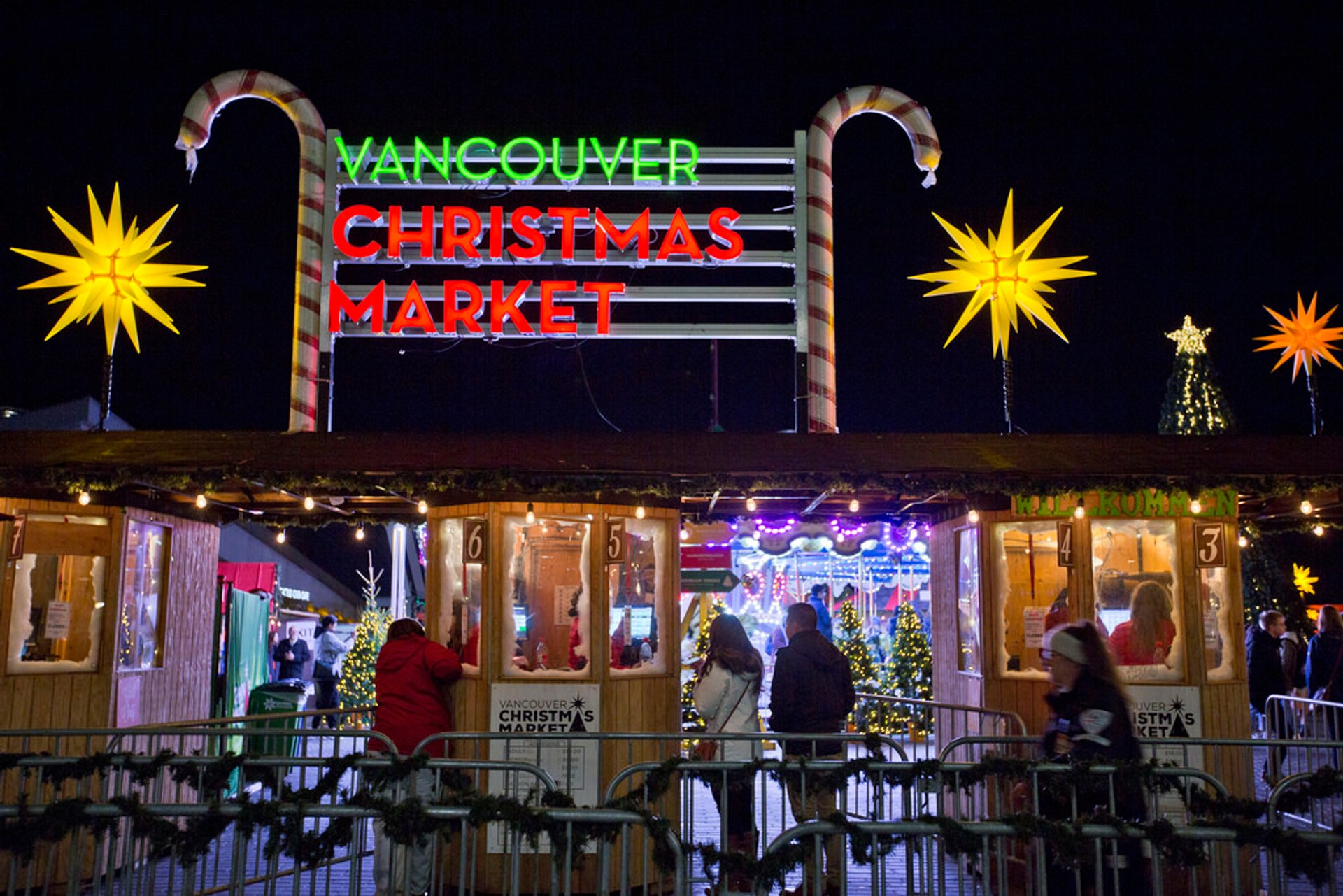 Best time for Vancouver Christmas Market 2019