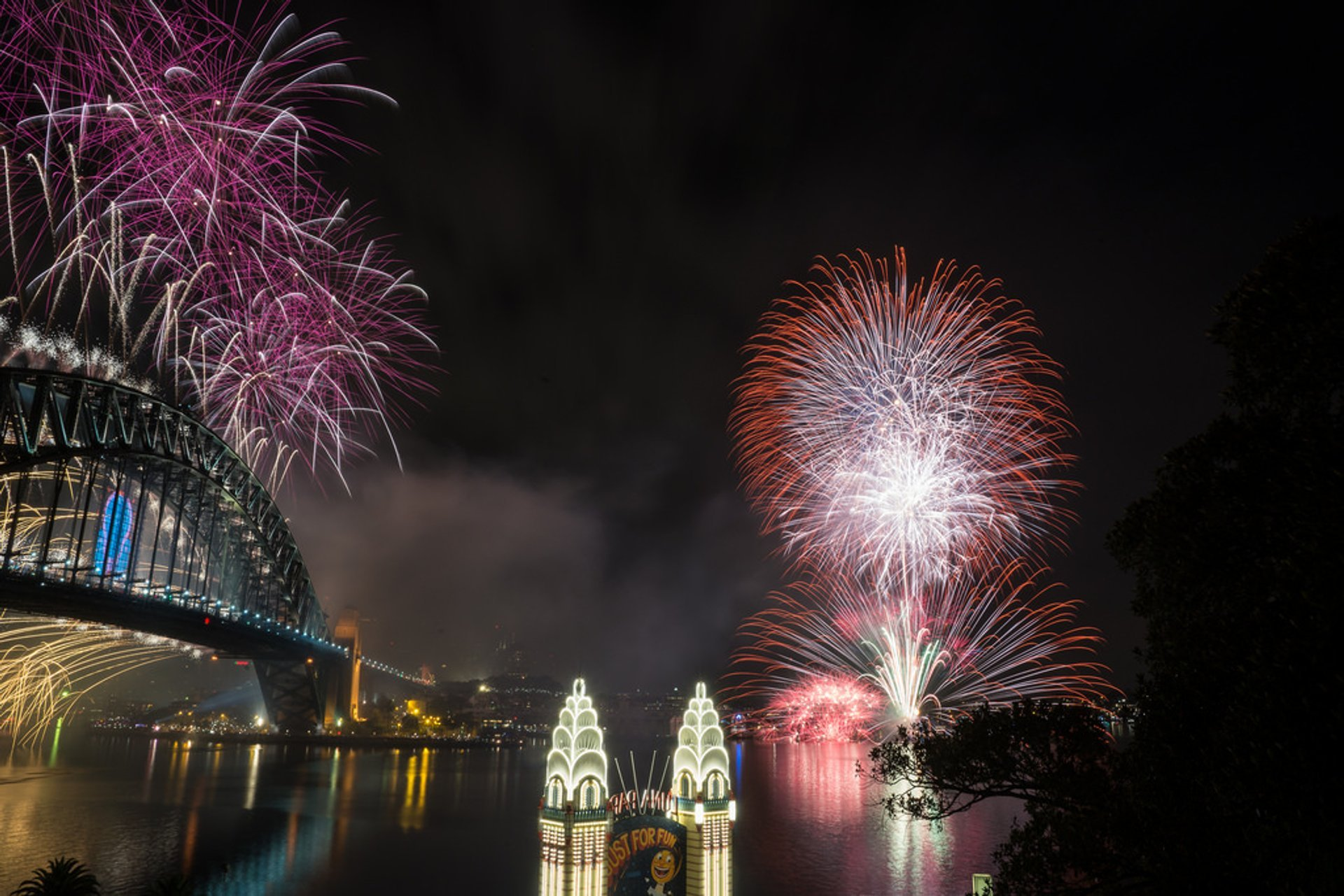Sydney New Year's Fireworks in Sydney - Best Season 2020