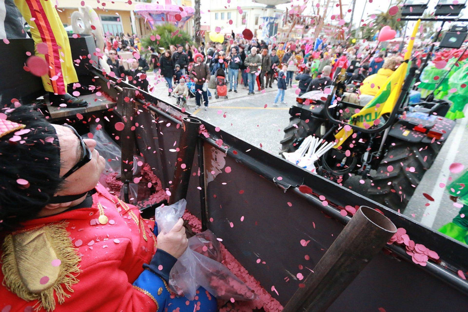 Viareggio Carnival Parade 2020