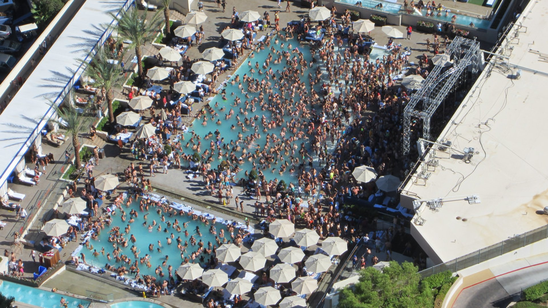 Pool Parties in Las Vegas 2020 - Best Time