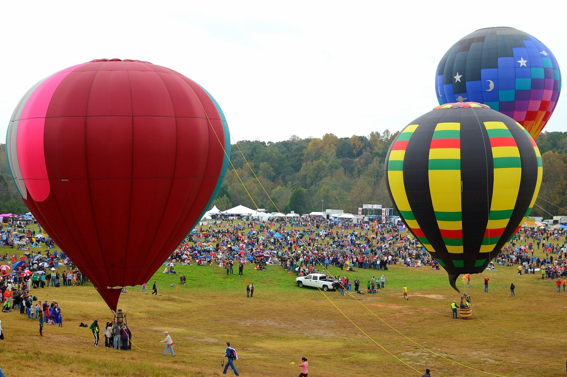 Best time to see Carolina Balloon Fest in North Carolina 2020