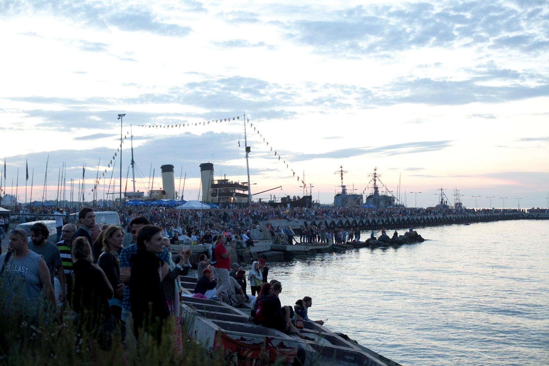 Best time to see Tallinn Maritime Days in Estonia 2020